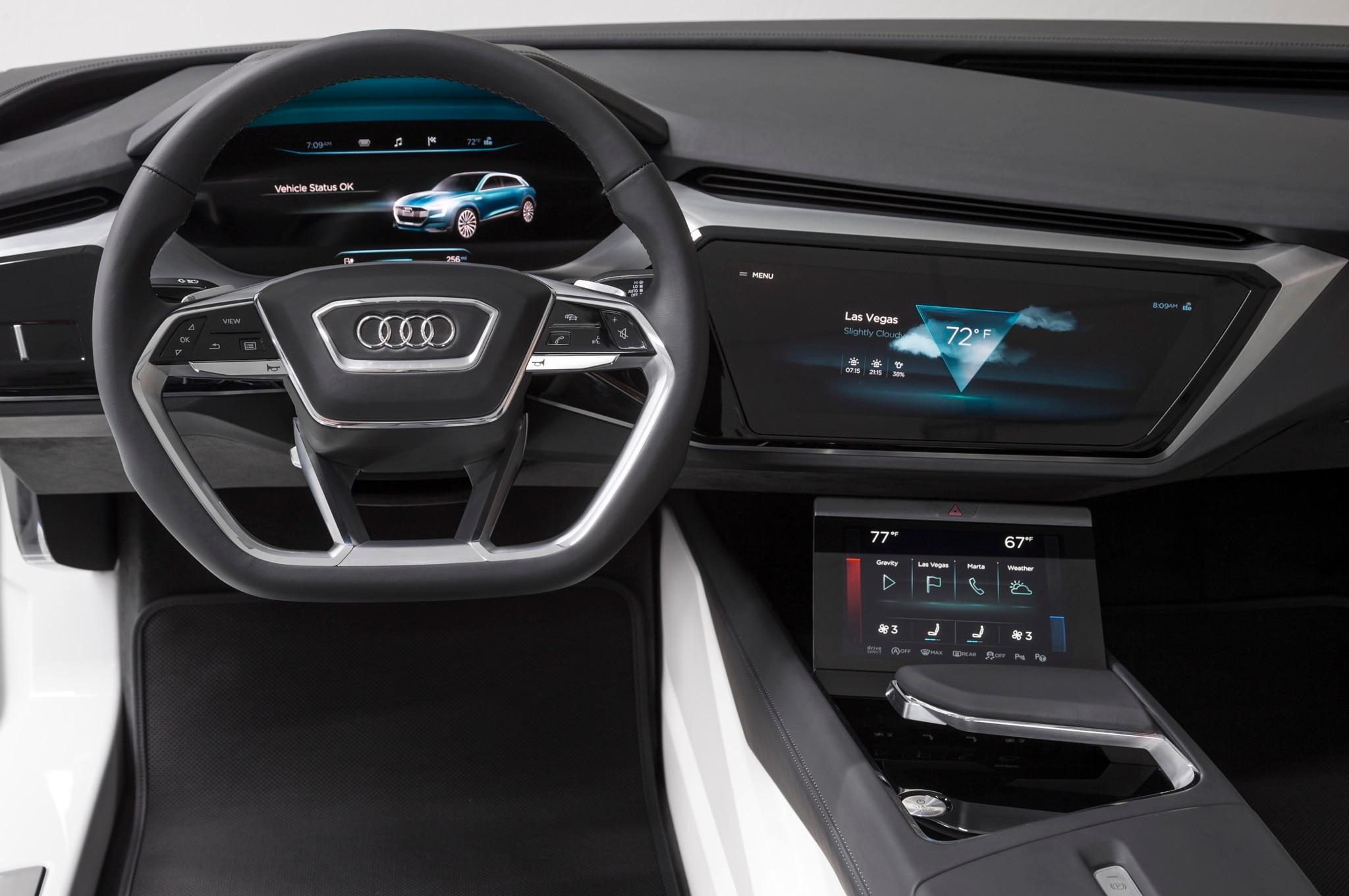Audi Virtual Dashboard Concept 3