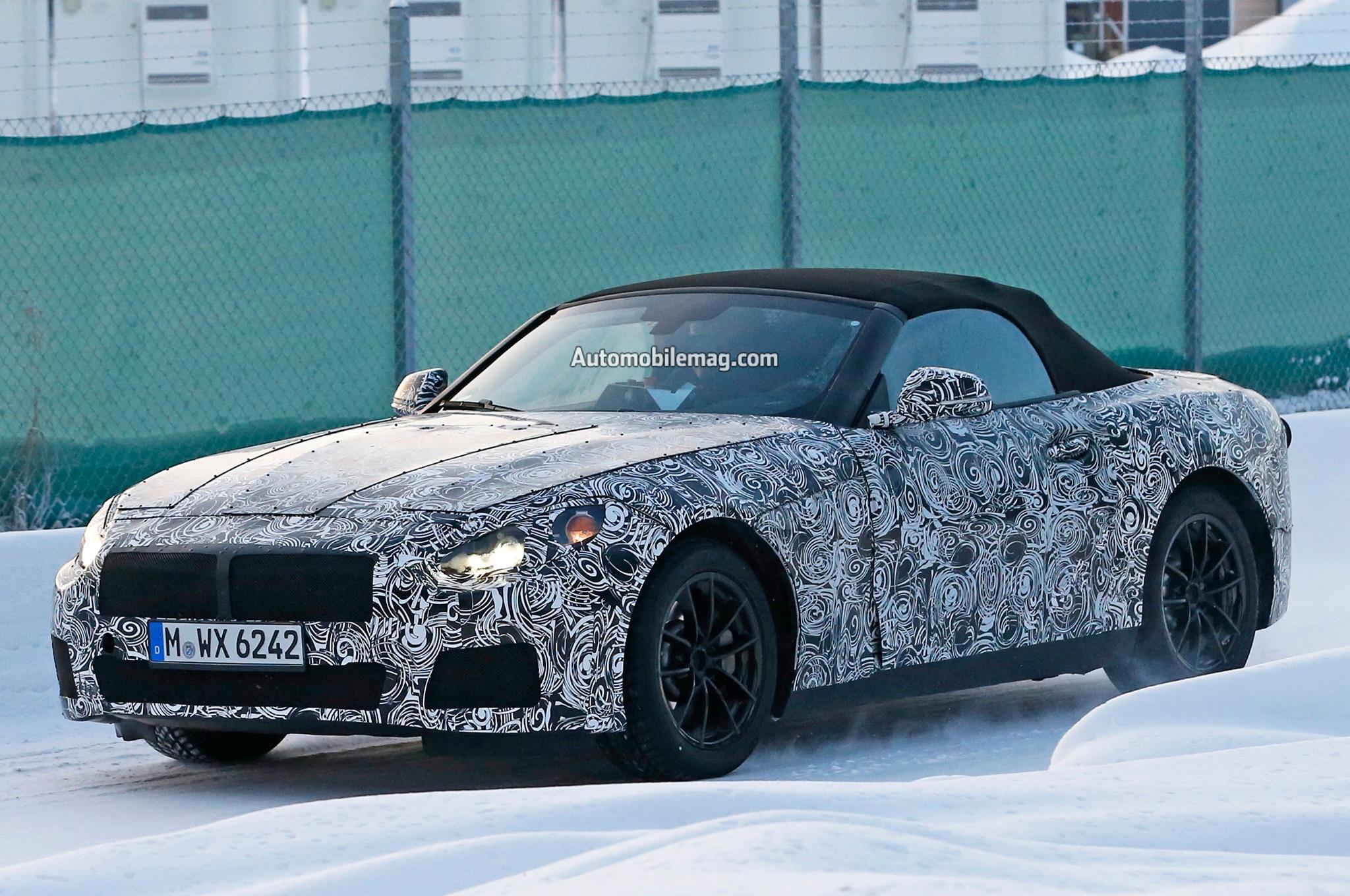 BMW Z5 Spied Front Three Quarters 051