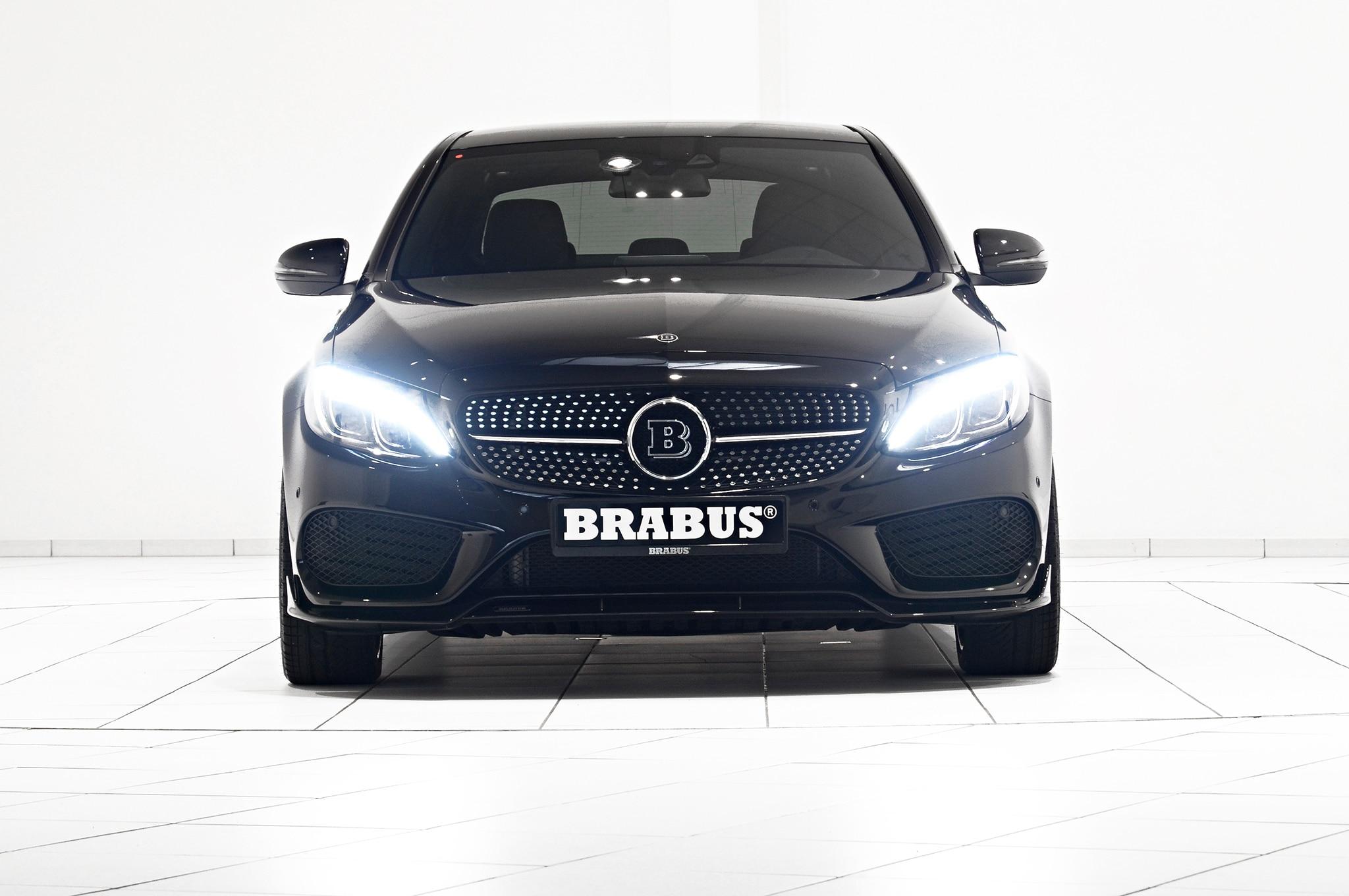 brabus pumps mercedes benz c450 amg up to 405 hp 420 lb ft. Black Bedroom Furniture Sets. Home Design Ideas