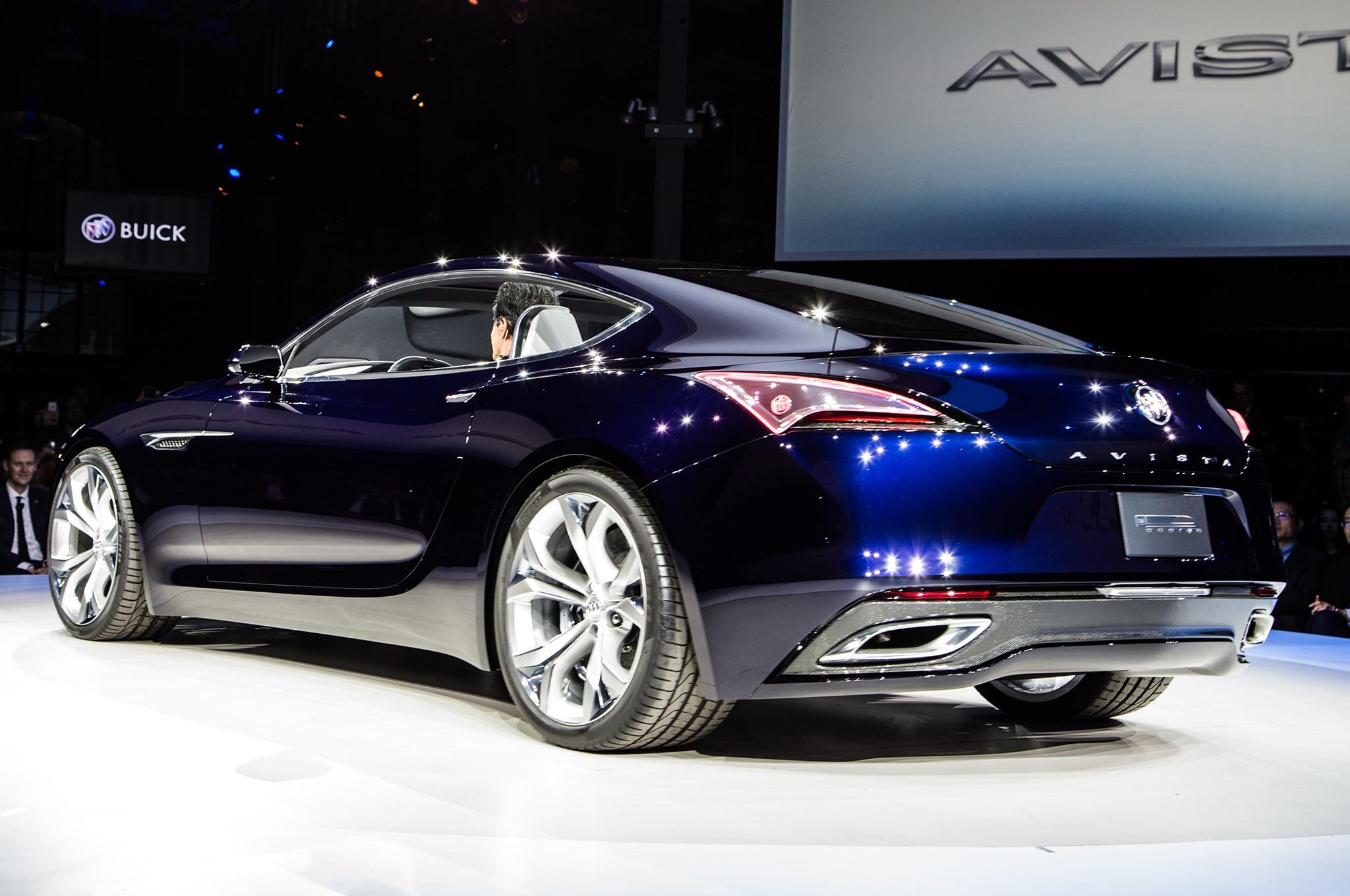 Buick Avista Concept Stuns Detroit With Gorgeous Design ...