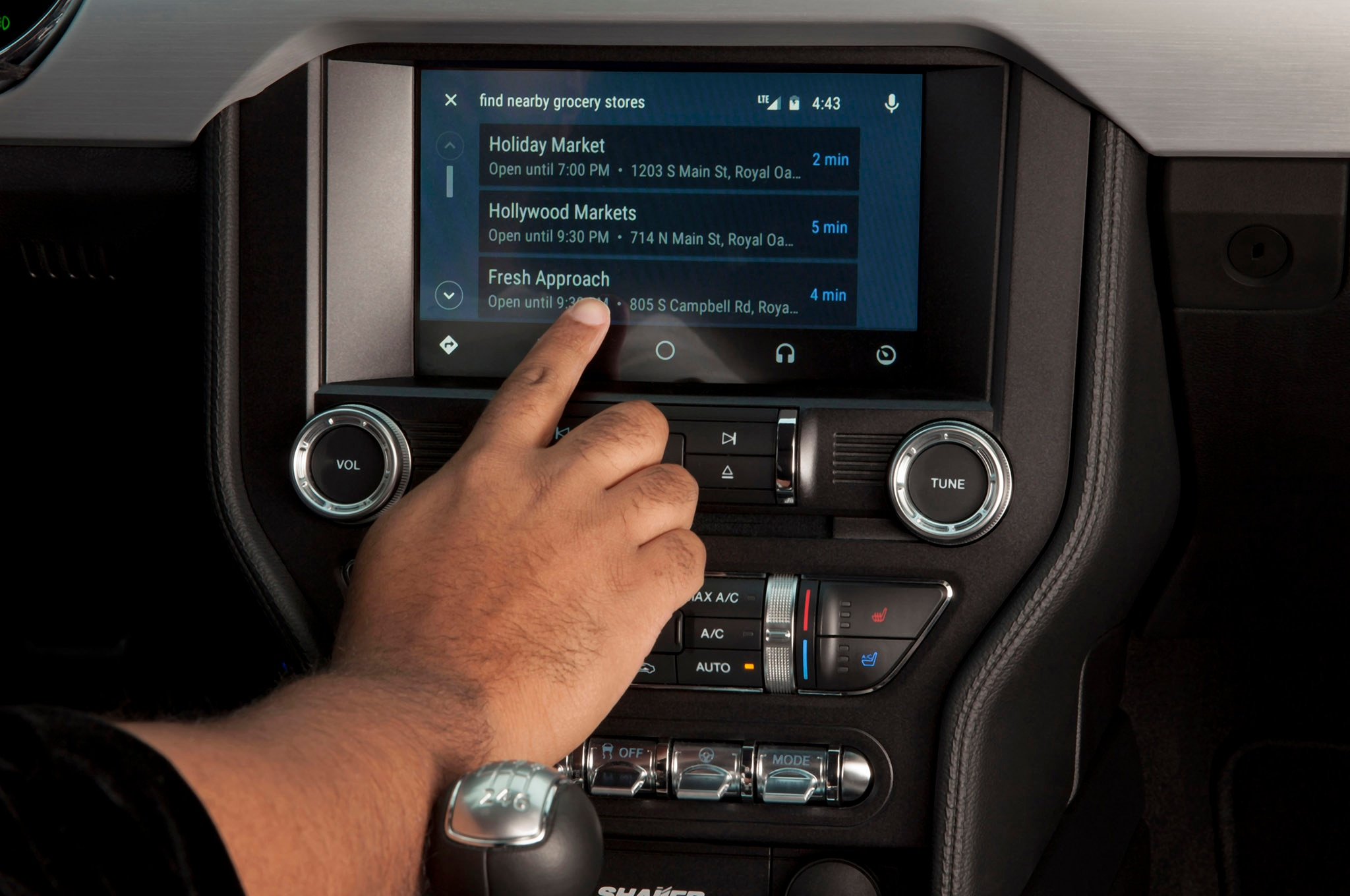 ford sync 3 adds apple carplay android auto for 2017. Black Bedroom Furniture Sets. Home Design Ideas