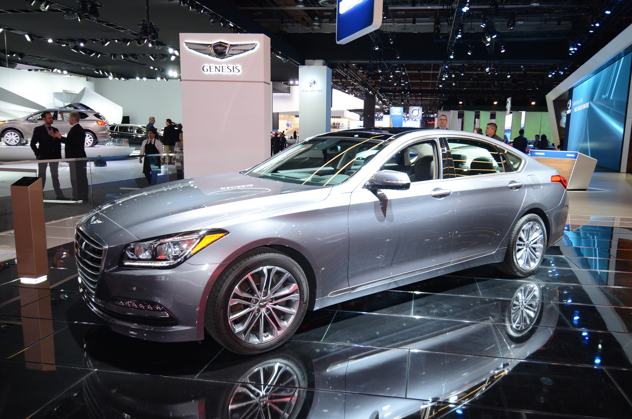 2017 genesis g80 sedan is a rebadged hyundai genesis. Black Bedroom Furniture Sets. Home Design Ideas