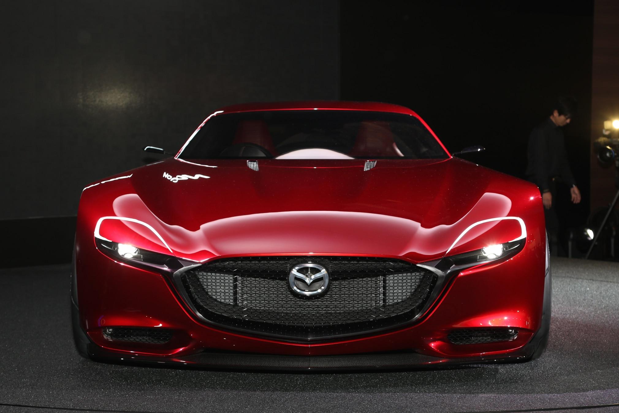 Mazda Rx 8 2017 Interior >> By Design: Mazda RX-Vision Concept