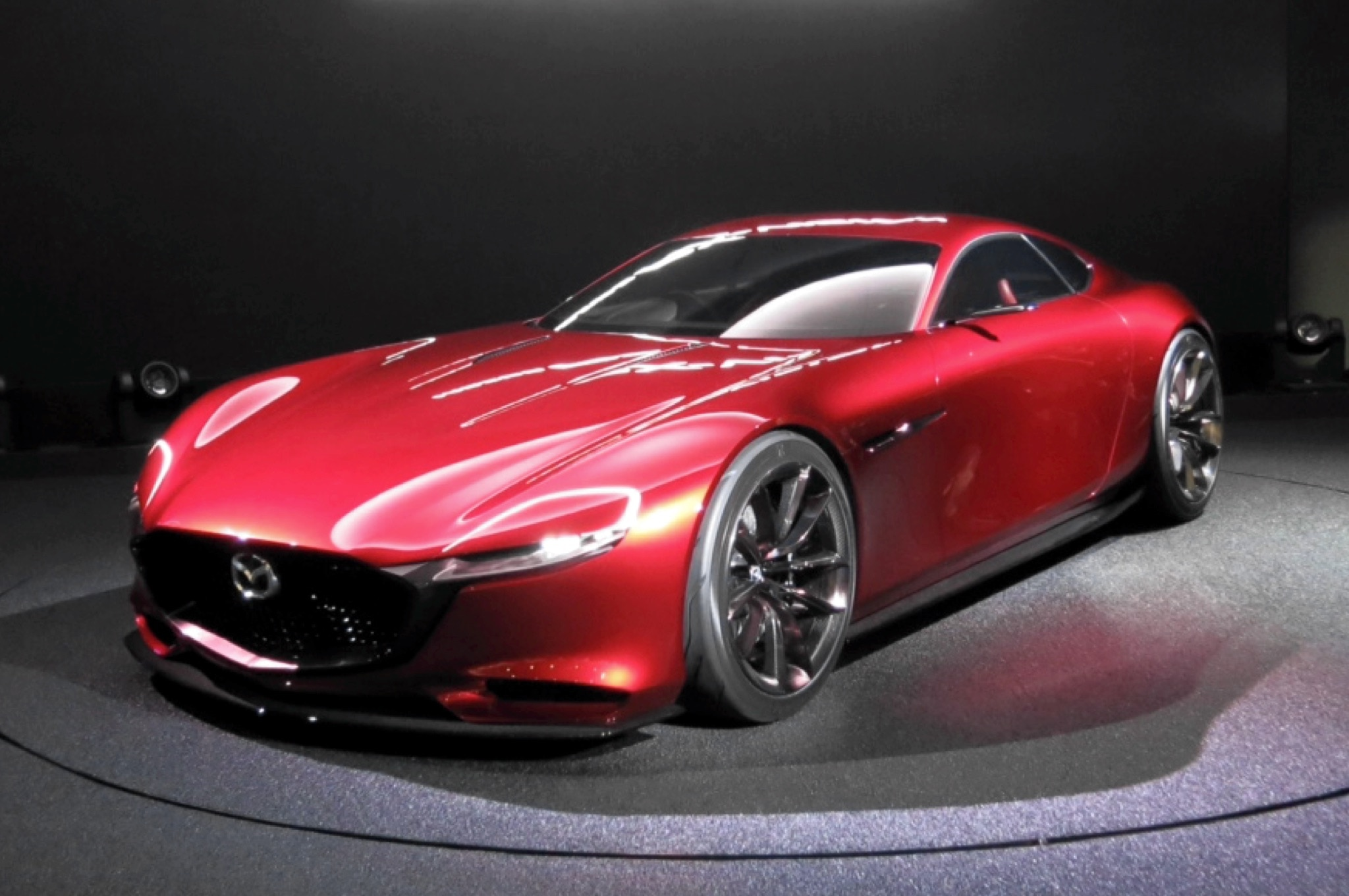 by design mazda rx vision concept. Black Bedroom Furniture Sets. Home Design Ideas