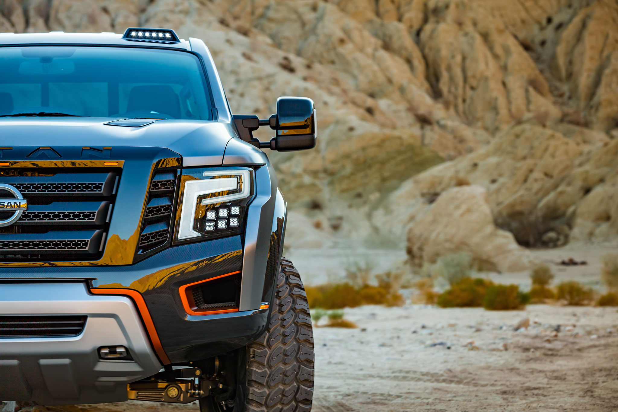 Nissan Titan Warrior Concept is an Off-Road Monster