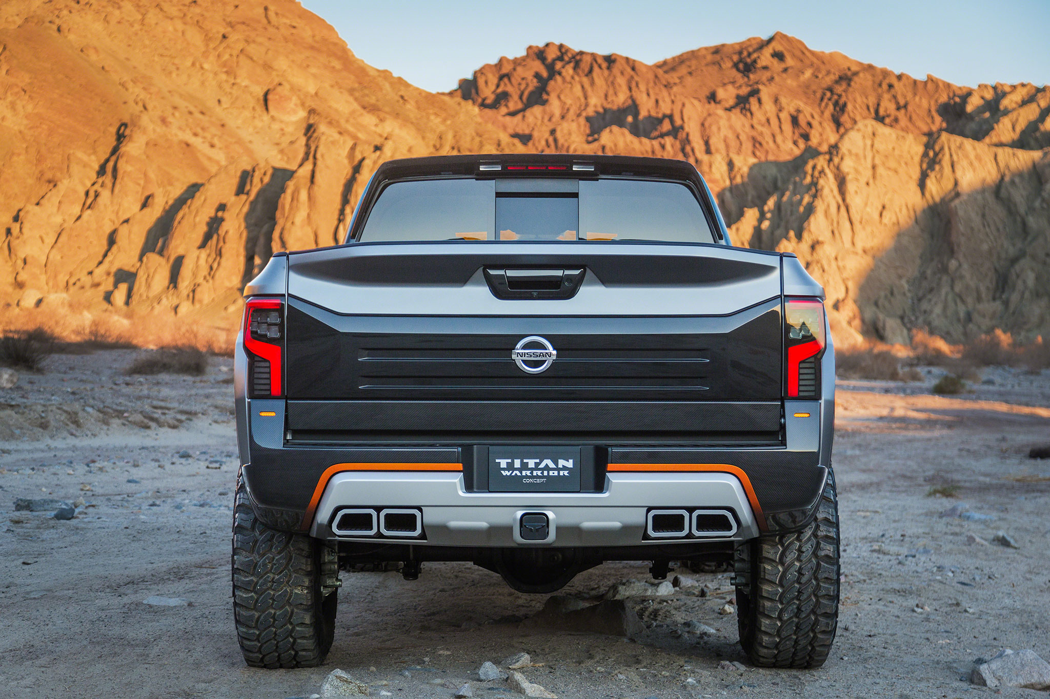 Nissan titan warrior concept is an off road monster show more vanachro Images
