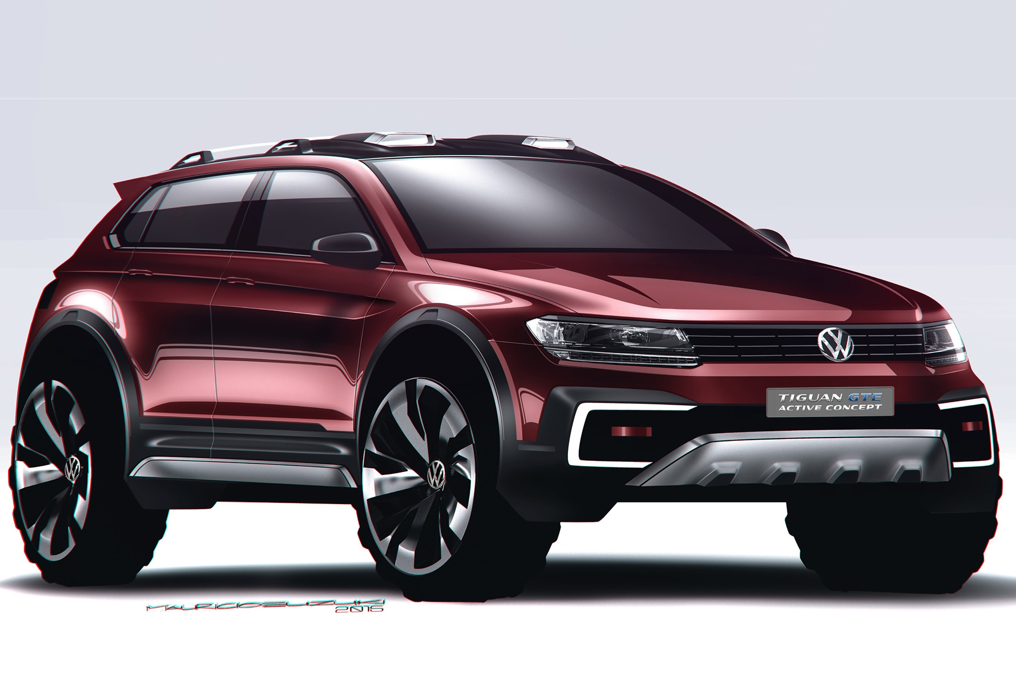 volkswagen tiguan gte active concept is an awd hybrid. Black Bedroom Furniture Sets. Home Design Ideas