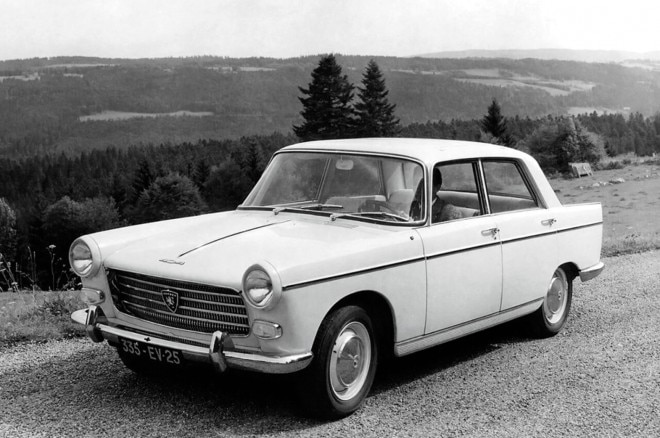 1969 Peugeot 404 injection