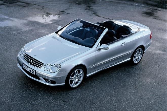2003 Mercedes BENZ CLK55 AMG Cabriolet