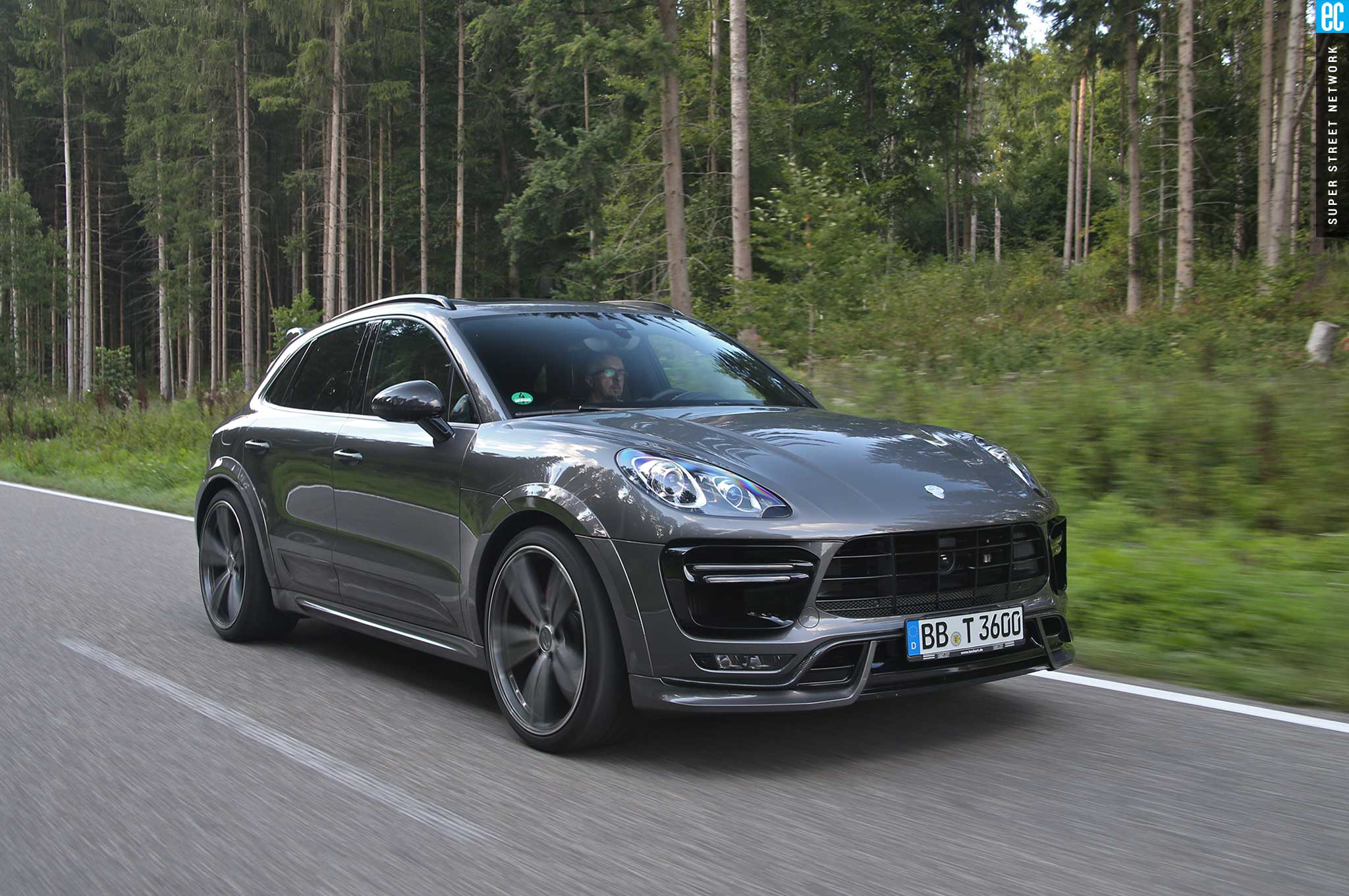 techart heats up the 2015 porsche macan turbo | automobile magazine