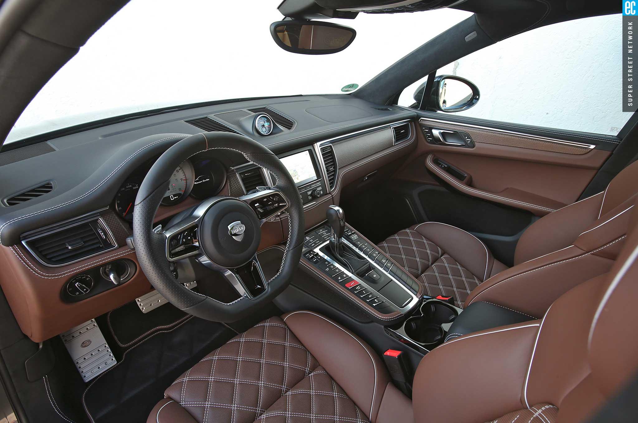 techart heats up the 2015 porsche macan turbo   automobile magazine