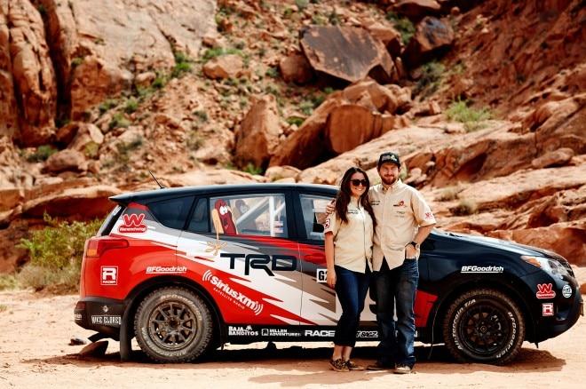 2015 Toyota RAV4 LE at 2015 Rally America Ryan Millen and Christina Fate