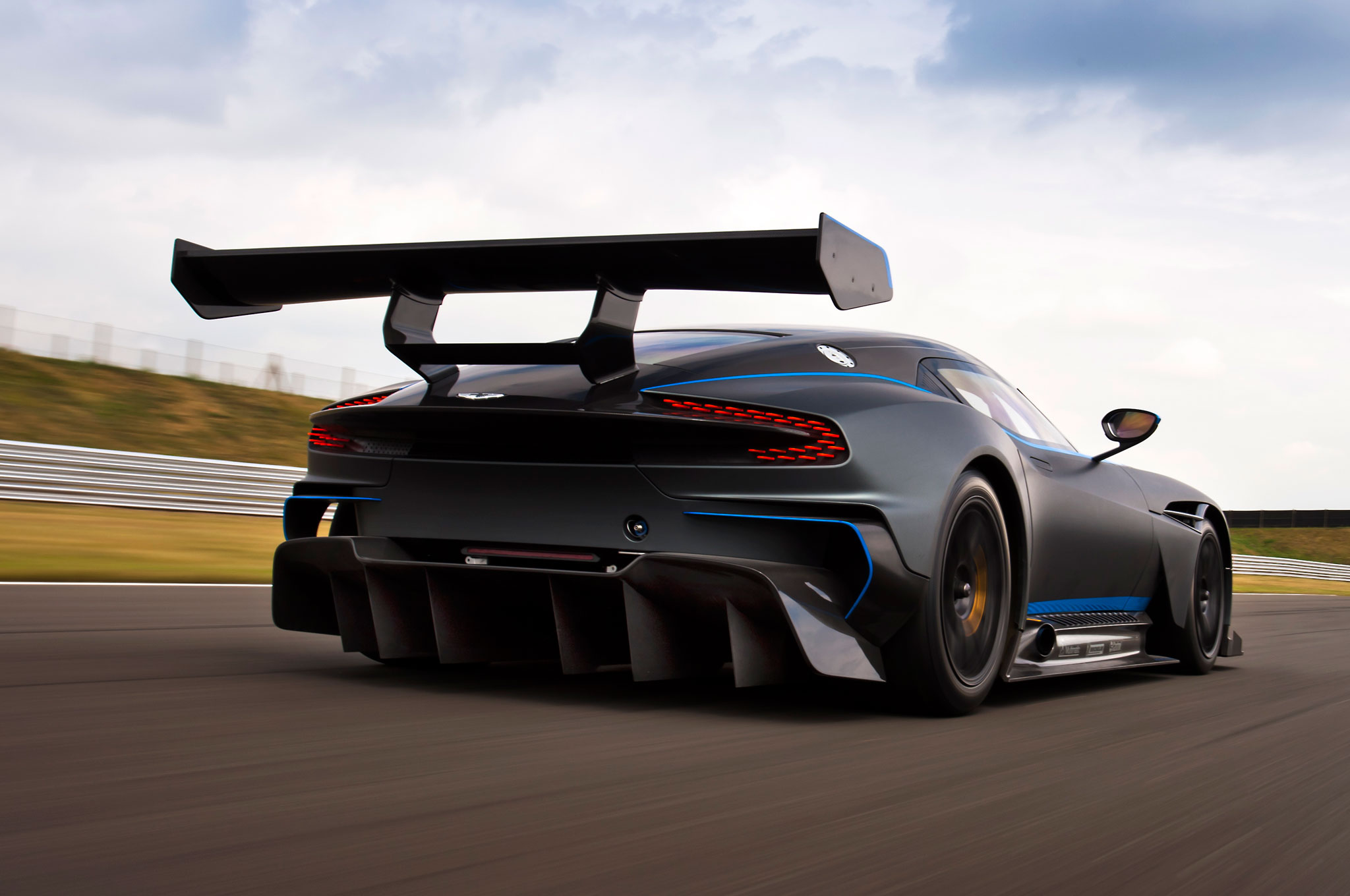 One Of 24 Aston Martin Vulcan Track Cars Goes Up For Sale