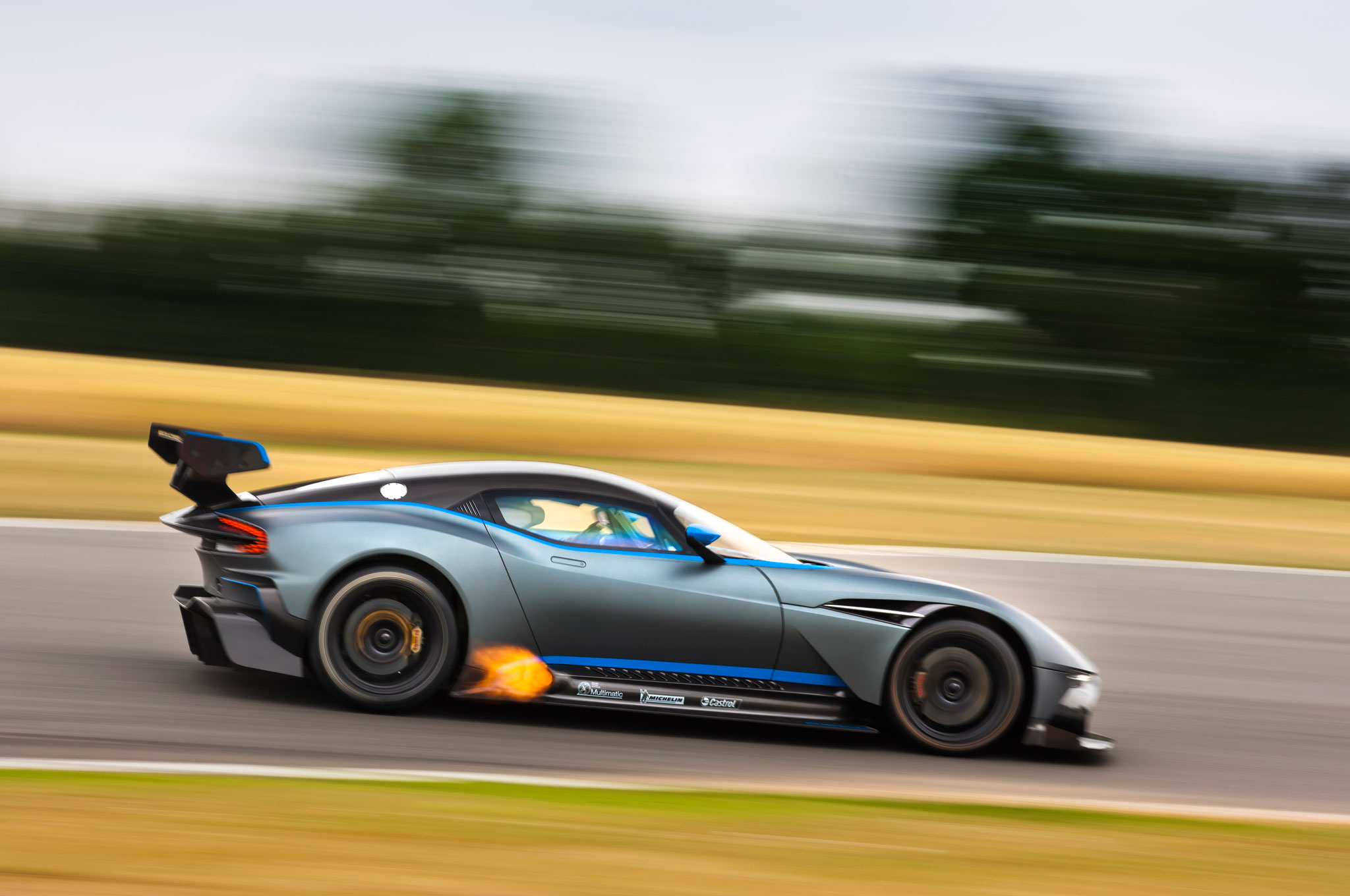 one of 24 aston martin vulcan track cars goes up for sale in ohio. Black Bedroom Furniture Sets. Home Design Ideas