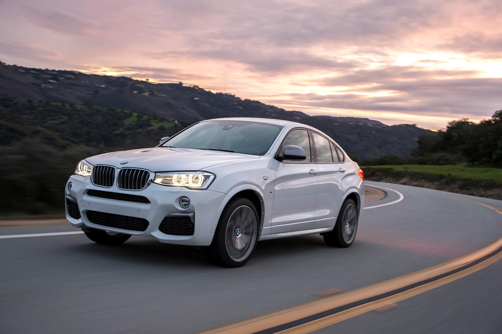 2016 BMW X4 M40i Front Three Quarter In Motion 13 1