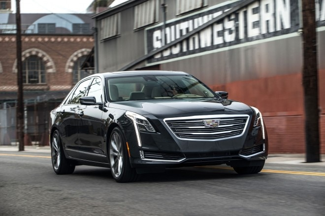 2016 Cadillac CT6 Front Three Quarter In Motion 01 660x438