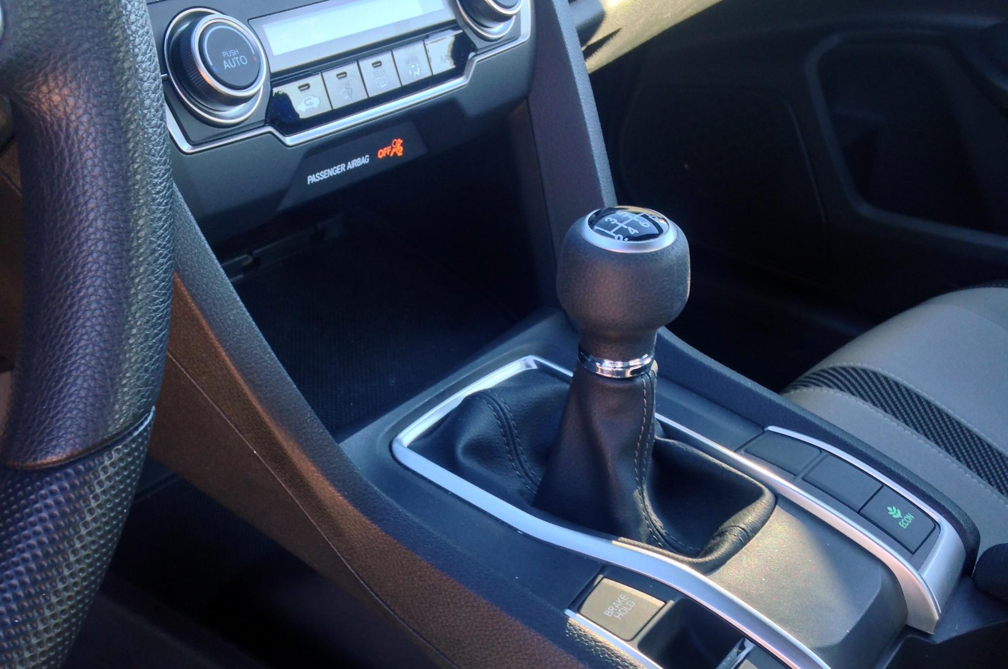 2017 honda civic manual transmission