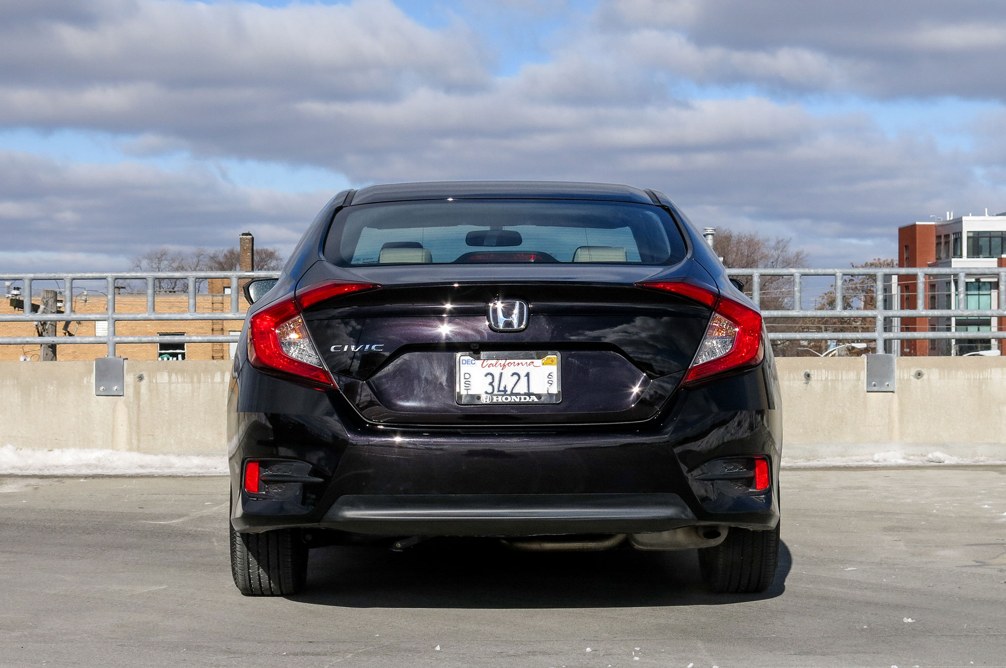 2016 honda civic ex sedan review automobile magazine for 2016 honda civic ex t review