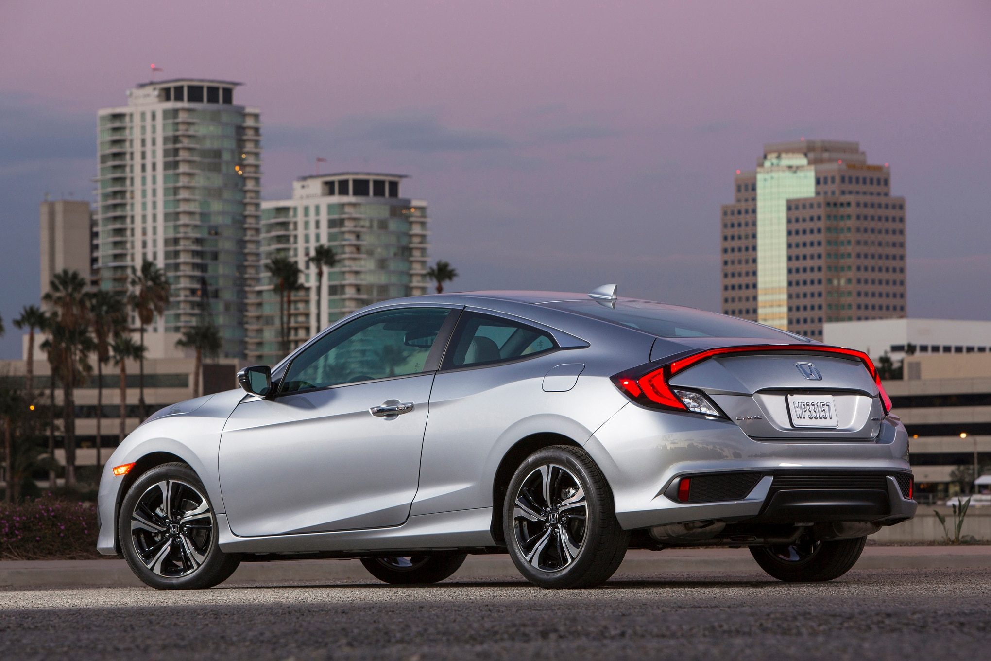 2016 honda civic coupe review automobile magazine for 2016 honda civic ex t review