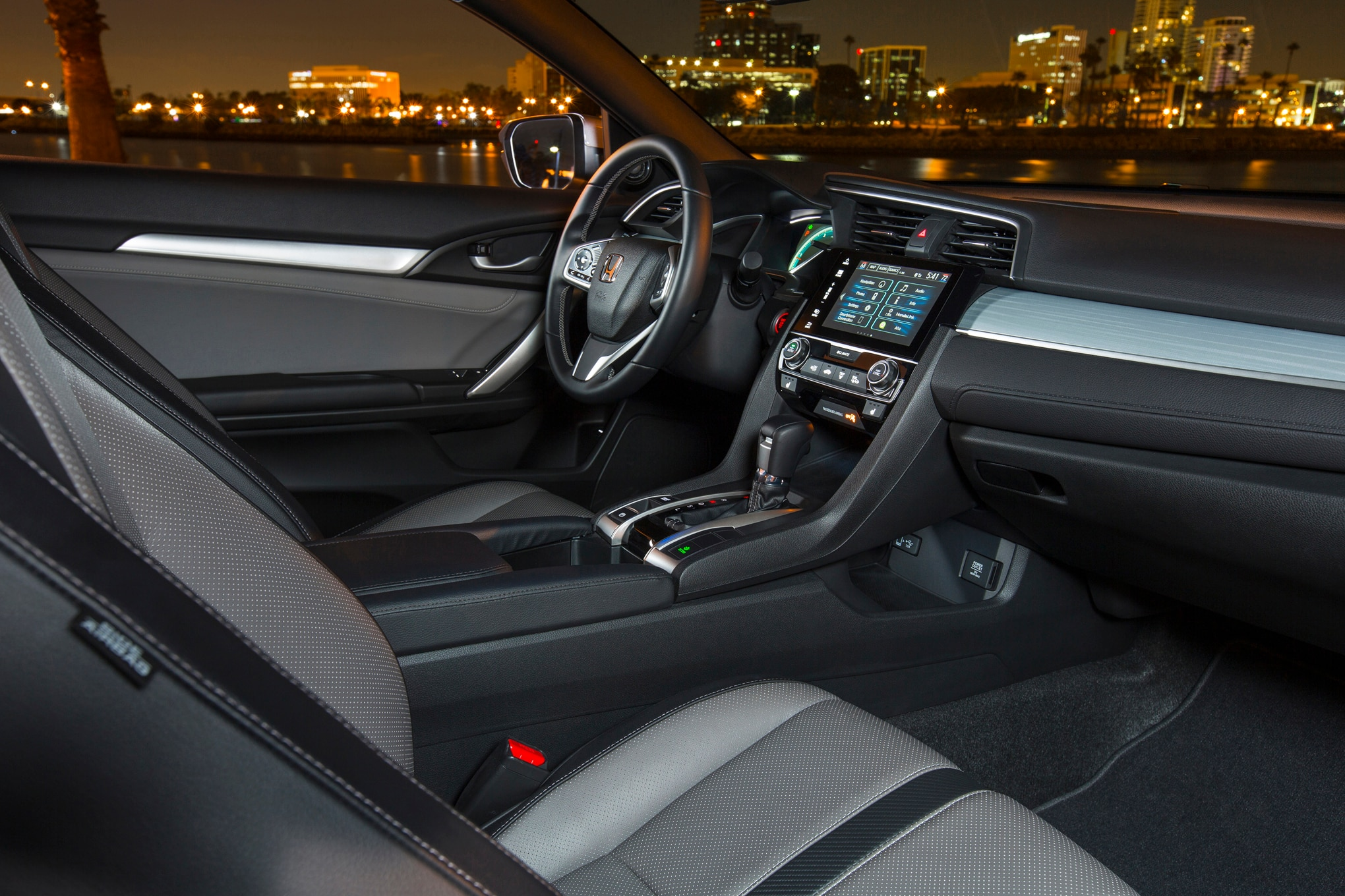 2016 honda civic coupe pricing detailed starts at 19 885 - 2016 honda civic si coupe interior ...