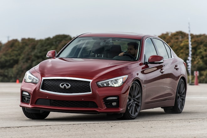 Ignition Takes A Look At The 2016 Infiniti Q50 Red Sport
