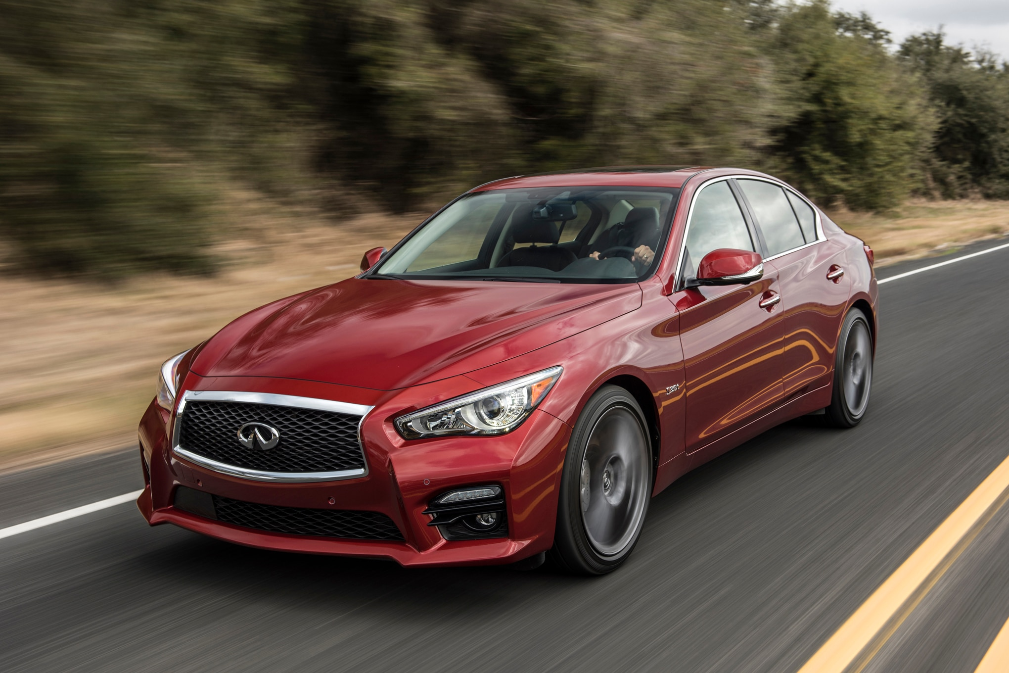 2016 infiniti q50 red sport 400 one week review automobile magazine. Black Bedroom Furniture Sets. Home Design Ideas