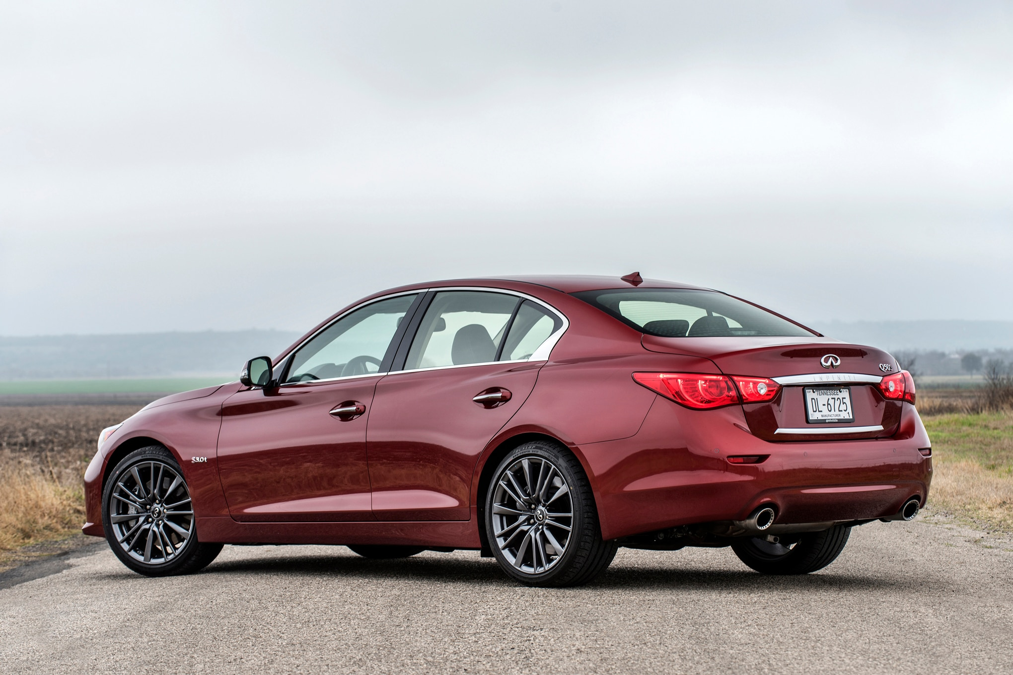 2016 Infiniti Q50S Red Sport Review | Automobile Magazine