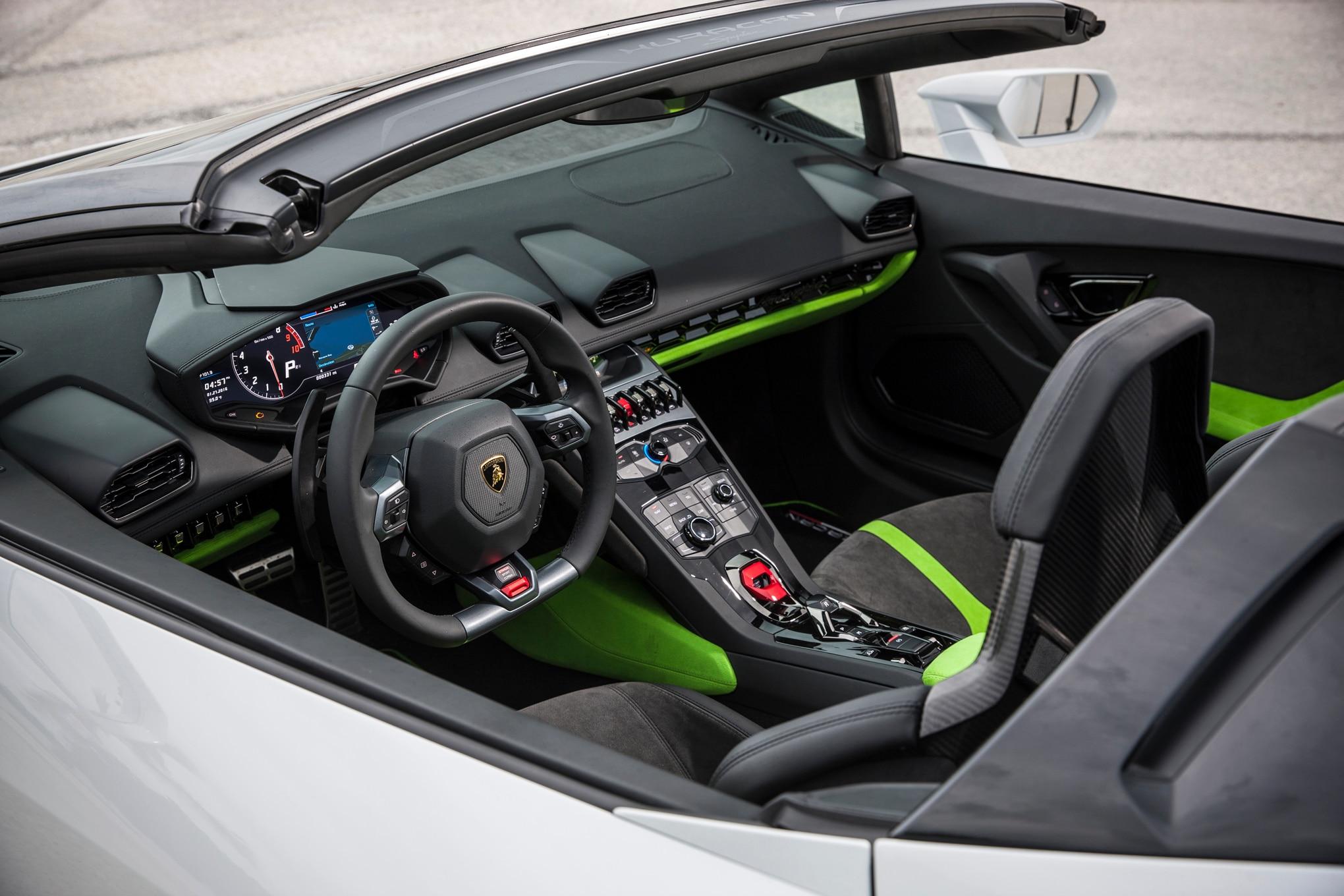 2016 Lamborghini Huracan Spyder Review | Automobile Magazine