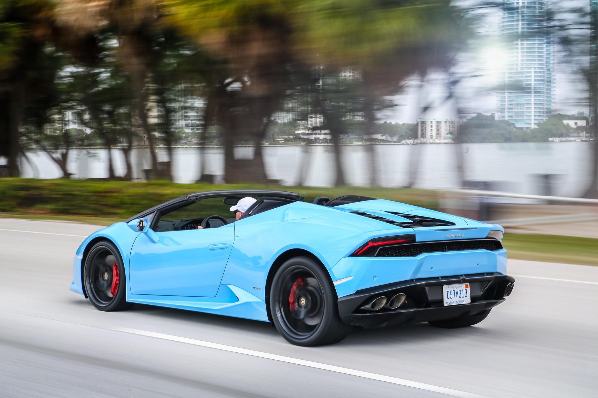 Model 2016 Lamborghini Huracan Spyder Review  Automobile Magazine