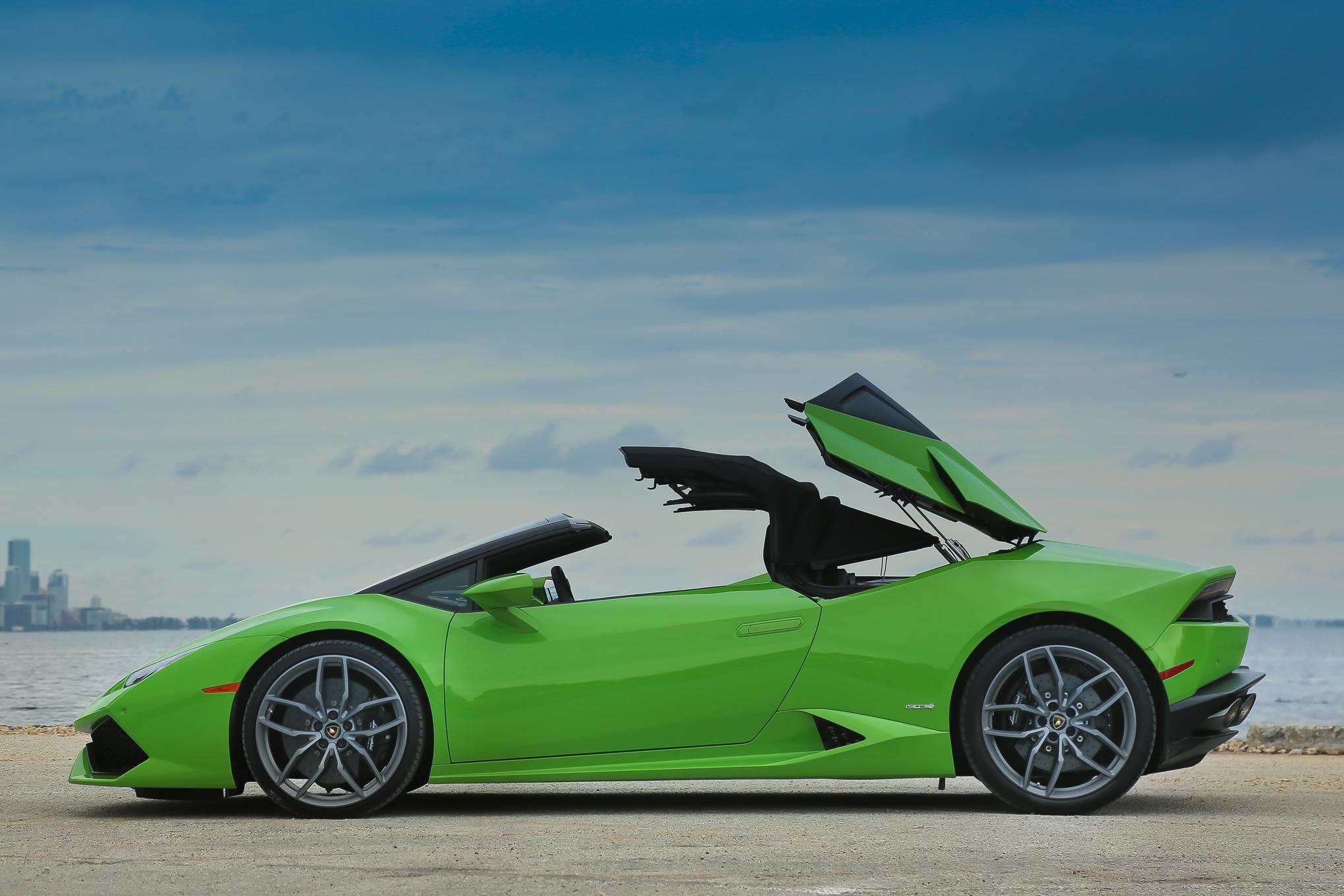 Simple 2016 Lamborghini Huracan Spyder Review  Automobile Magazine