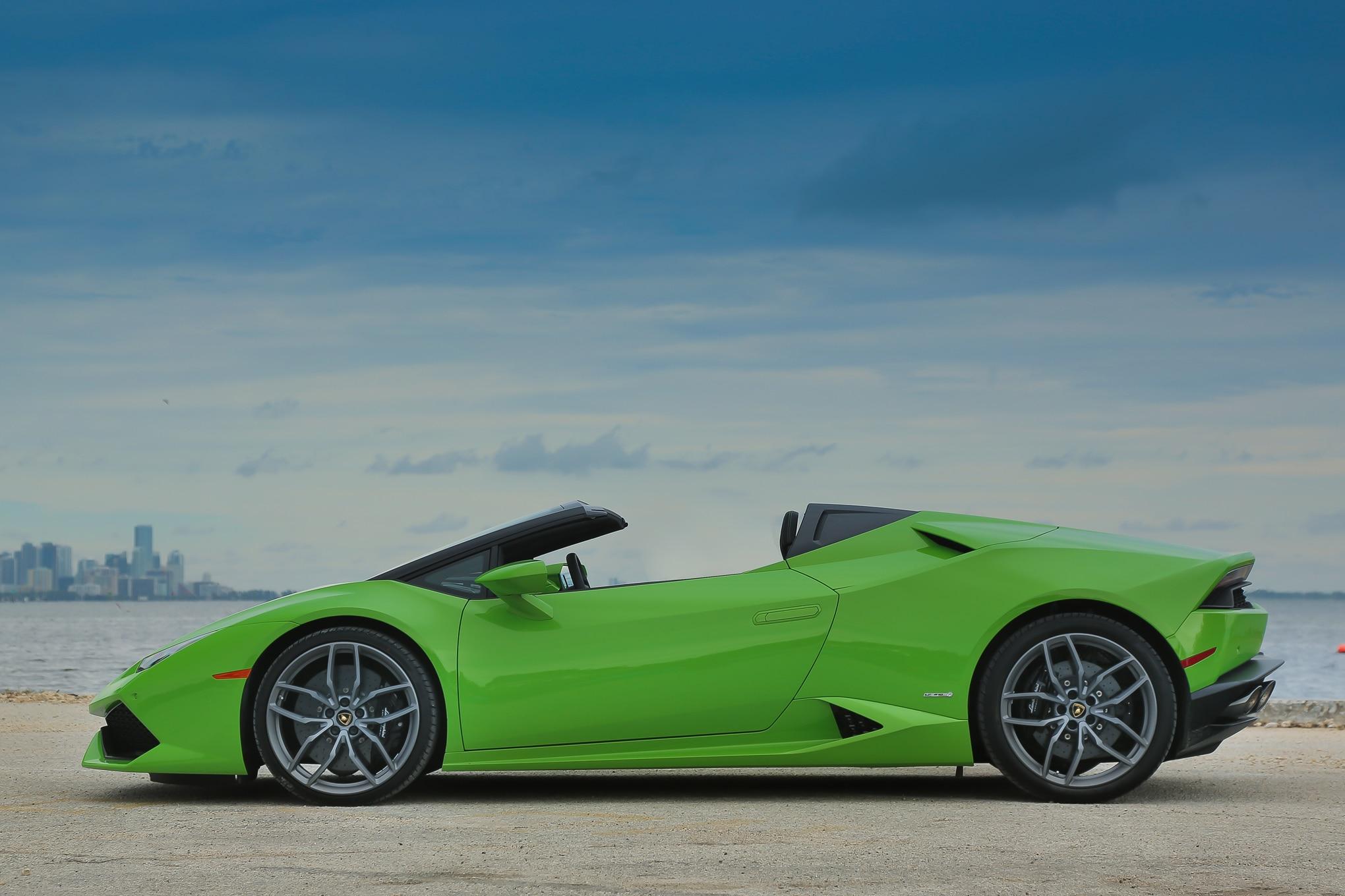 Lastest 2016 Lamborghini Huracan Spyder Review  Automobile Magazine