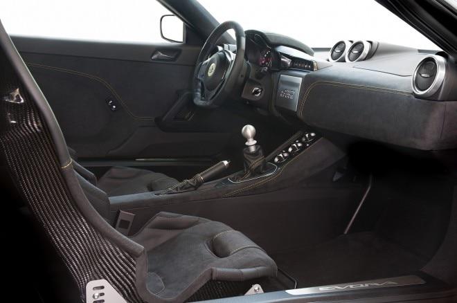 2016 Lotus Evora 410 interior