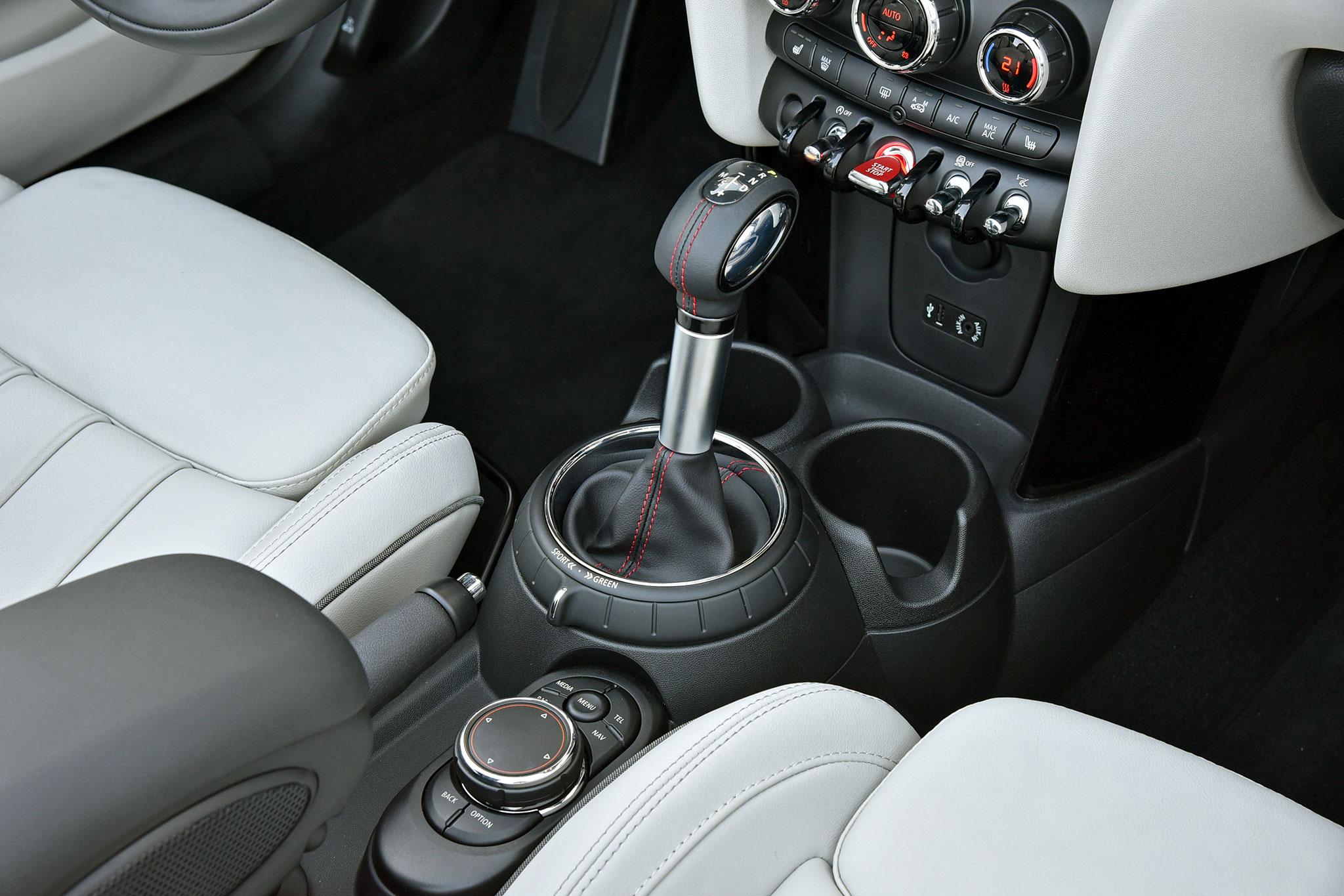 2016 mini convertible cooper s center console and shifter automobile. Black Bedroom Furniture Sets. Home Design Ideas