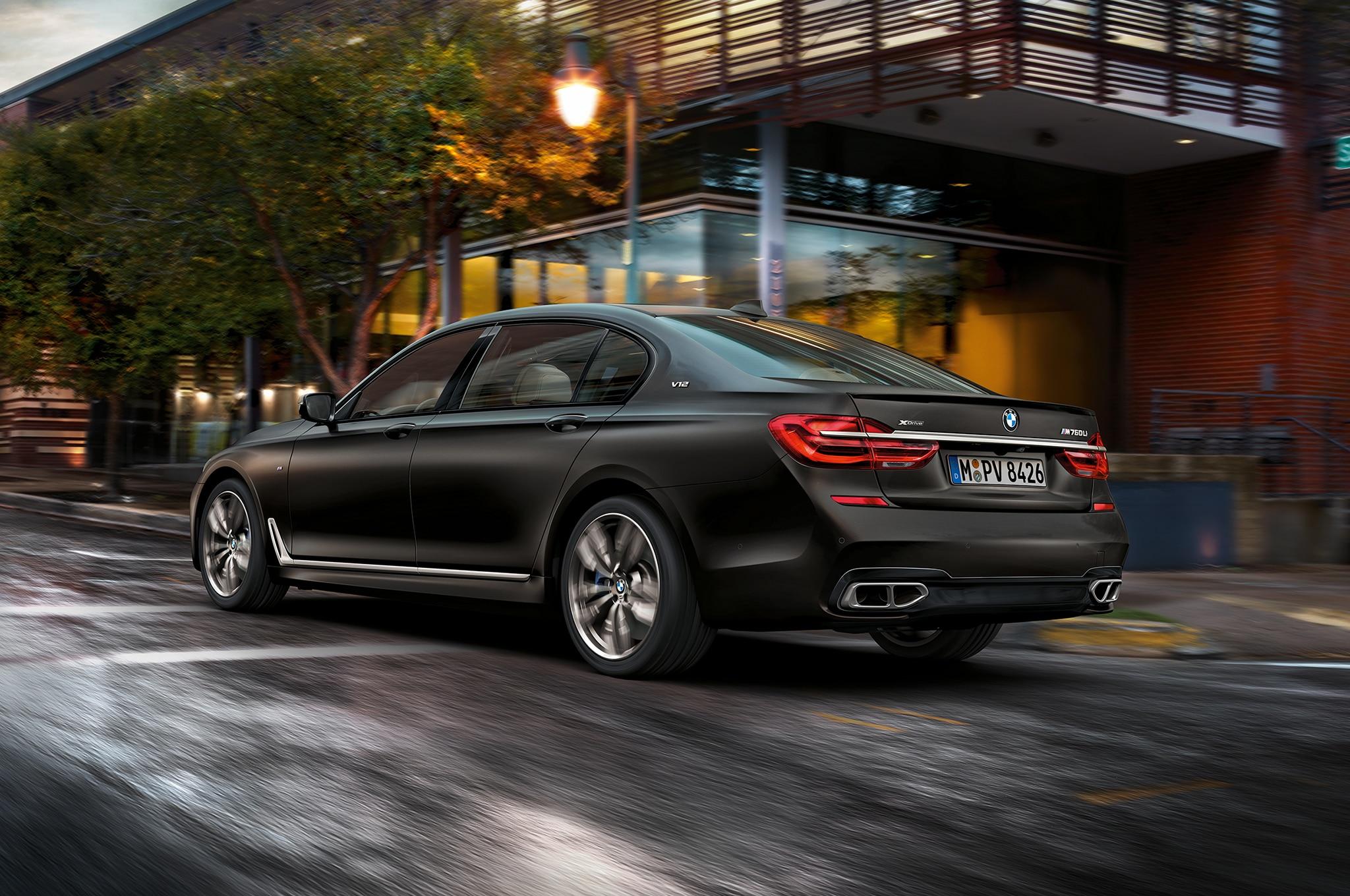 2017 BMW M760i xDrive is a 12Cylinder HighPerformance Luxury Sedan