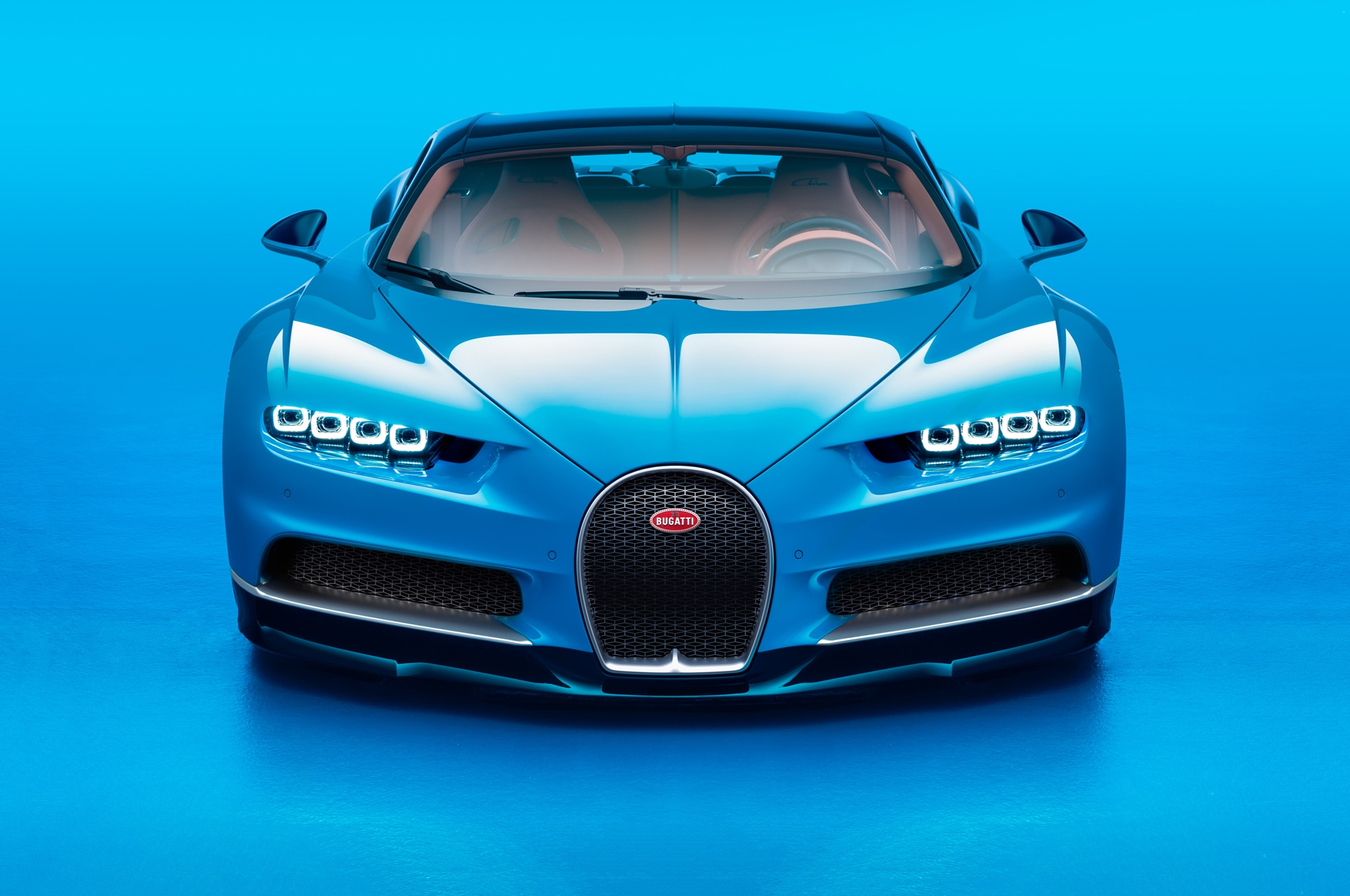 2017-Bugatti-Chiron-front-end Interesting Bugatti Veyron 2017 top Speed Cars Trend