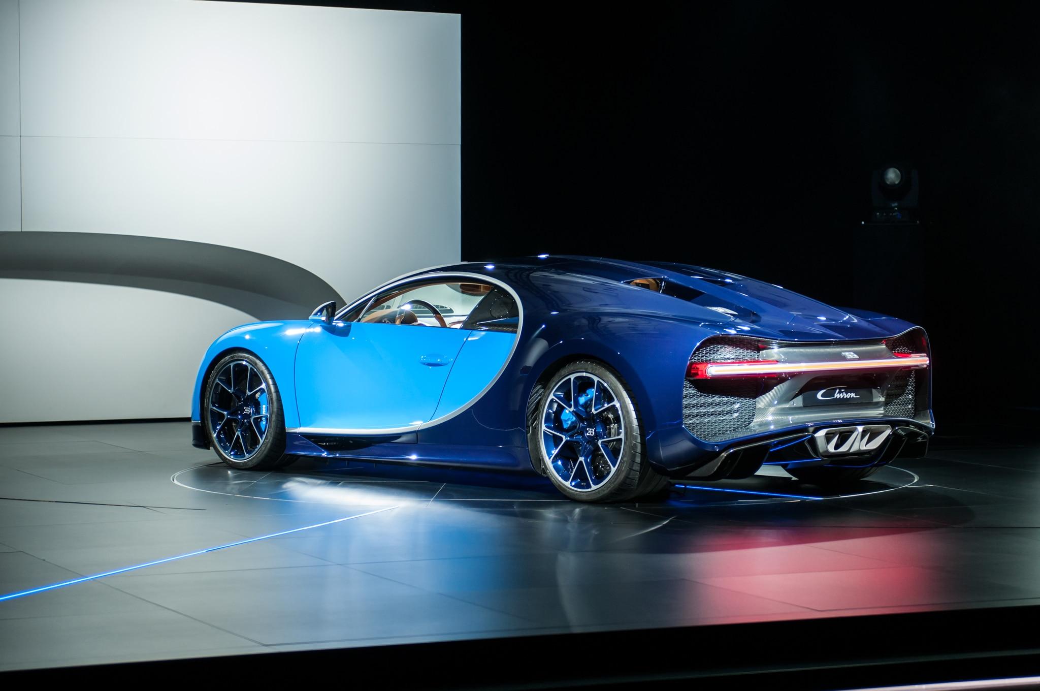 2017-Bugatti-Chiron-rear-three-quarter-02 Cozy Bugatti Veyron and Chiron Difference Cars Trend