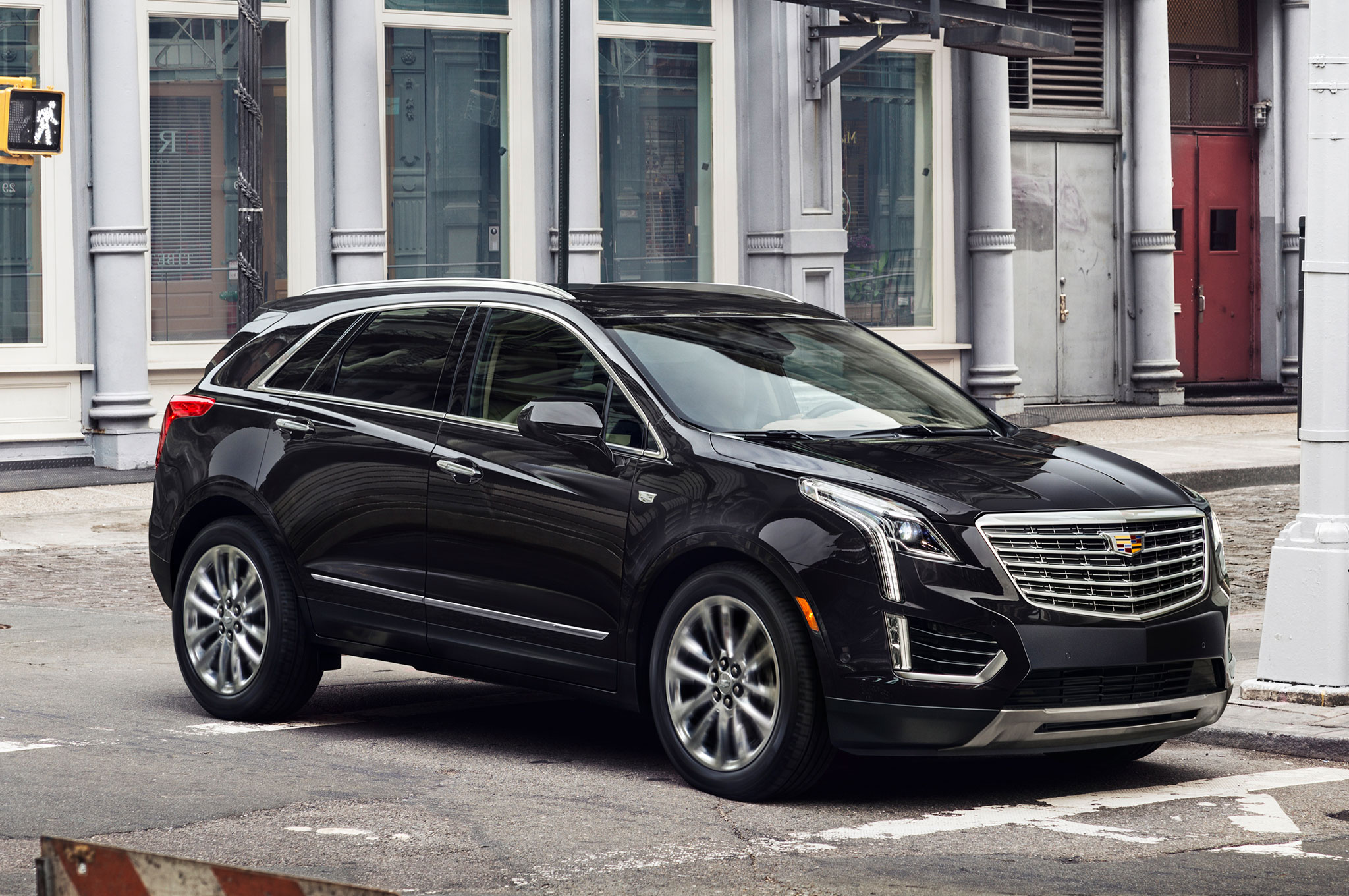 2017 Cadillac XT5 front side view on street 2017 cadillac xt5 starts at $39,990 photo gallery Cadillac CTS 2003 Wiring-Diagram at reclaimingppi.co
