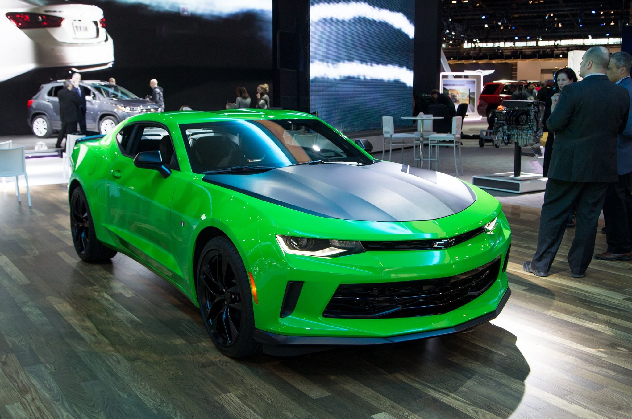 2017 Chevrolet Camaro SS 1LE New V6 1LE Revealed for Chicago Show