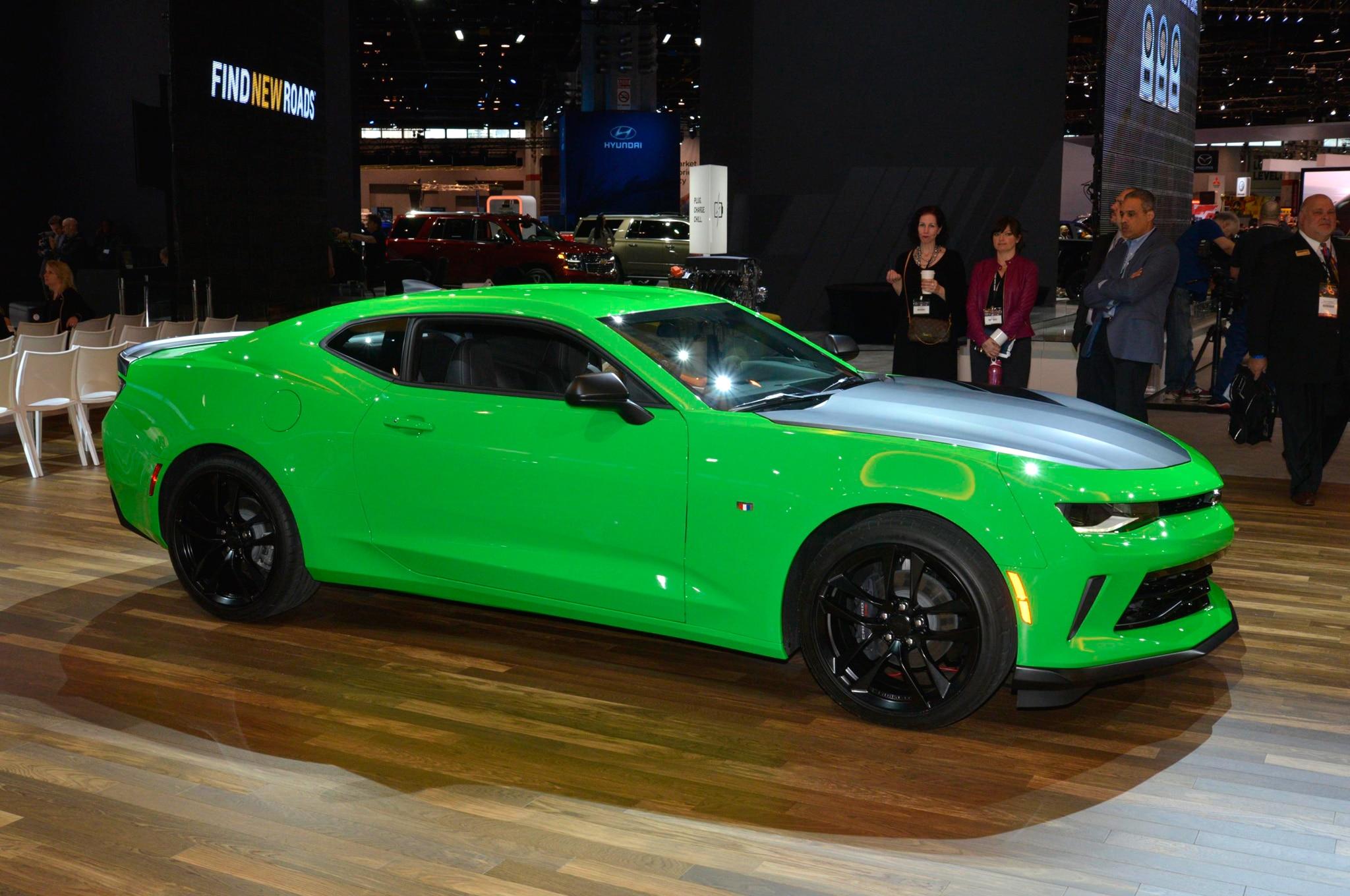 2017 Chevrolet Camaro SS 1LE, New V-6 1LE Revealed for Chicago Show
