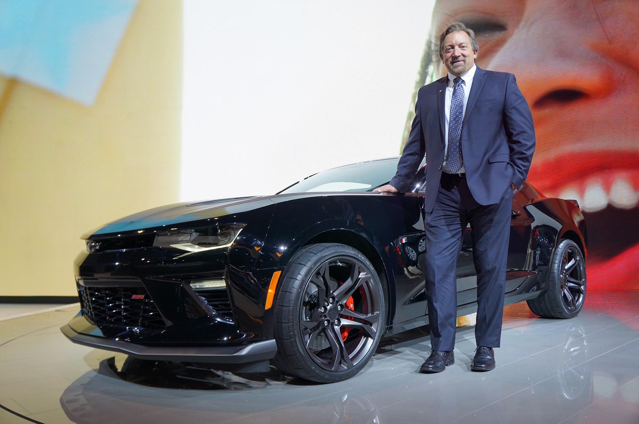 2017 Chevrolet Camaro SS 1LE And Al Oppenheiser