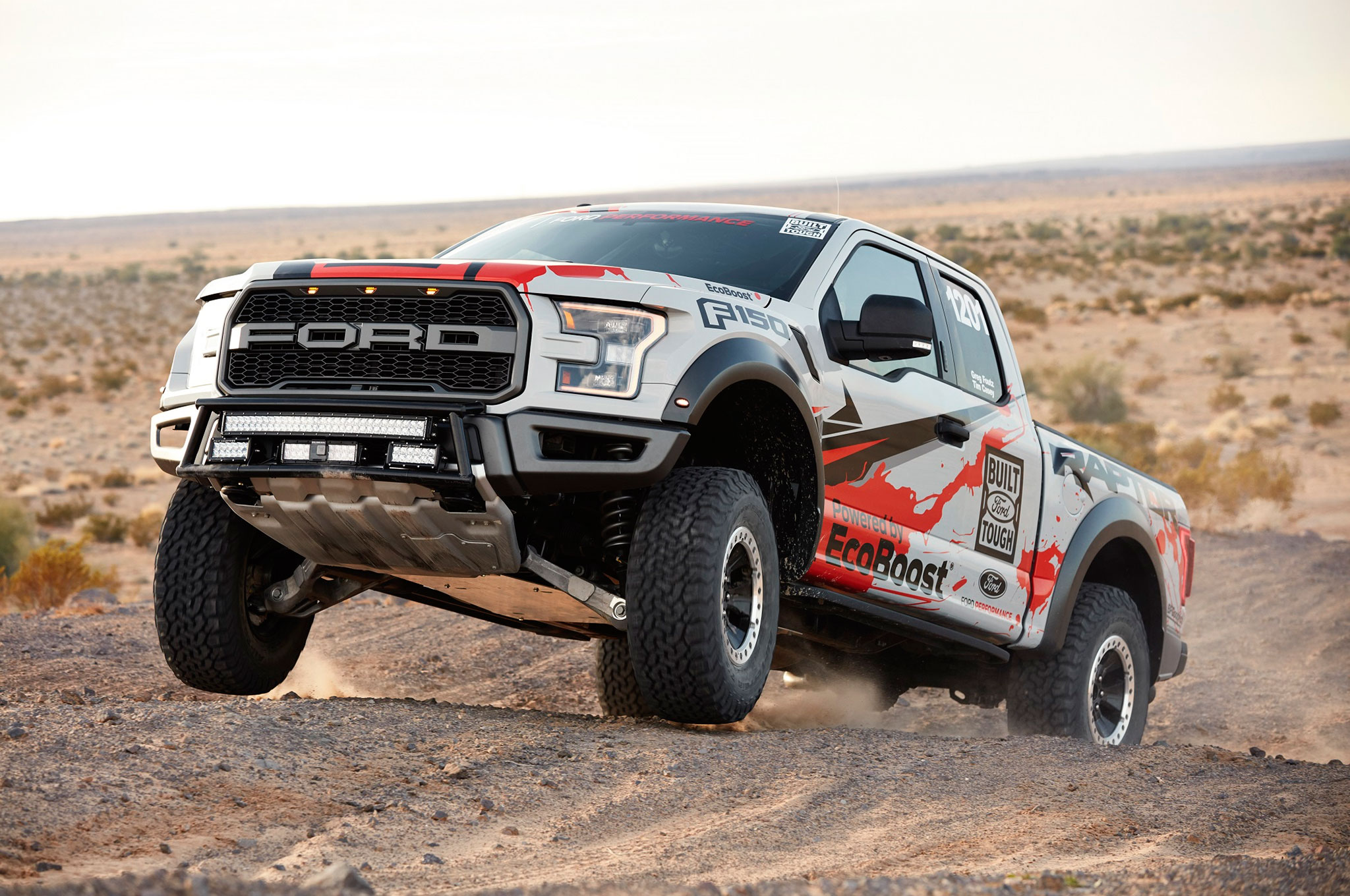 SEMA 2016: Stock Ford Raptor Ready for Baja 1000 | Automobile Magazine