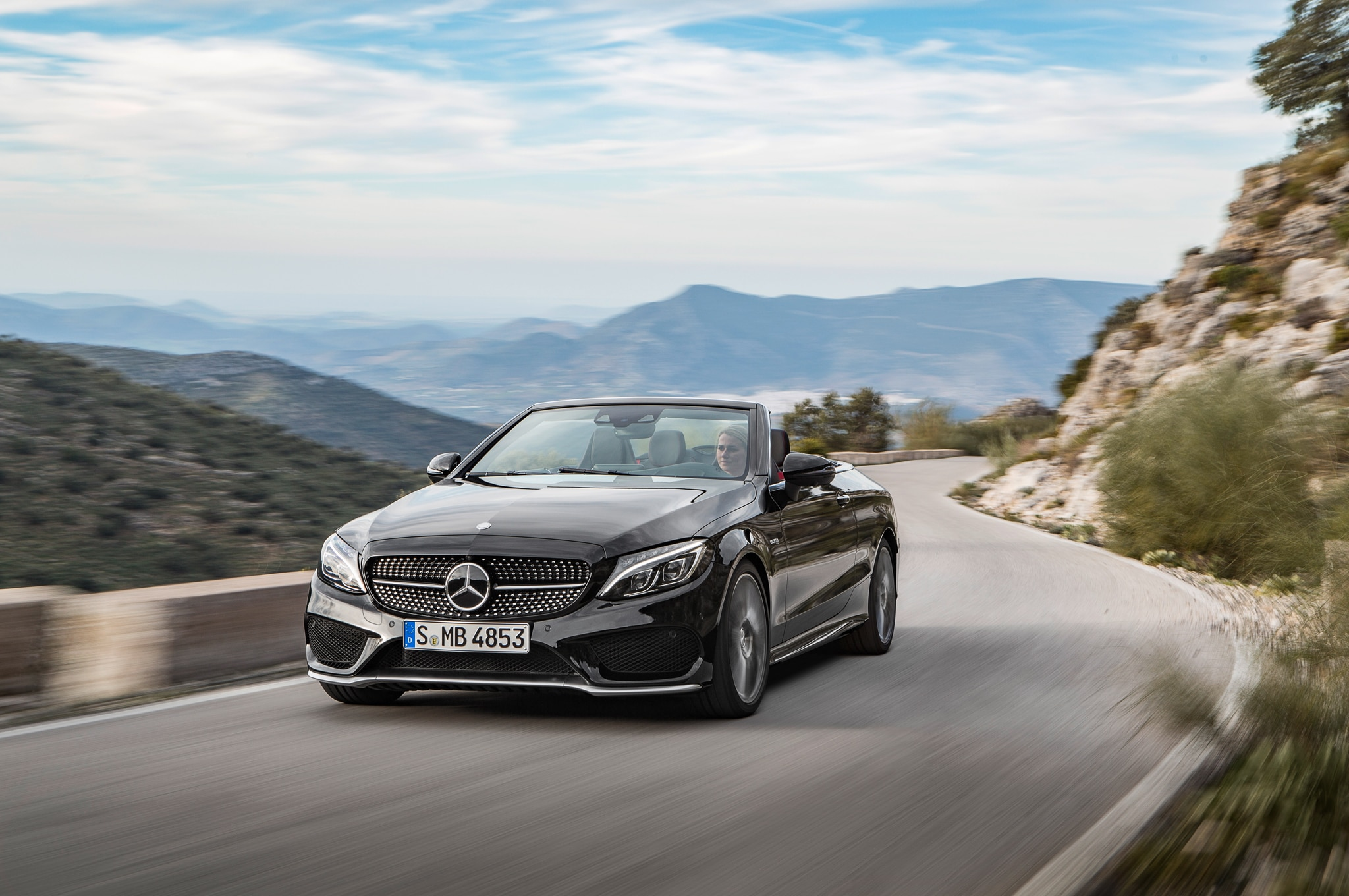 2017 mercedes benz c class cabriolet revealed in c300 amg for Mercedes benz c class amg