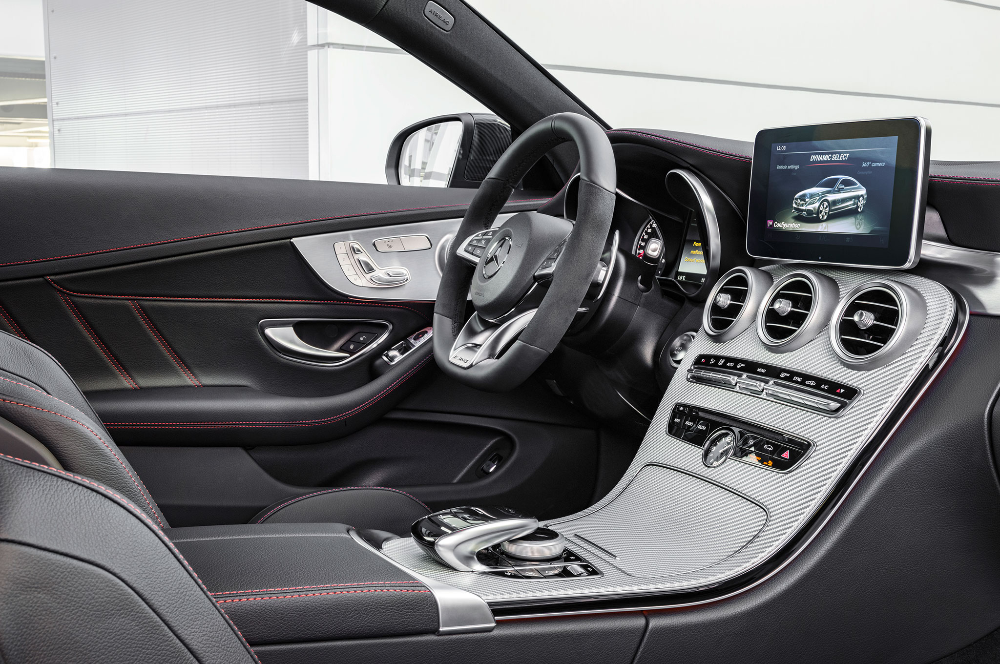 2017 mercedes amg c43 coupe joins sedan with 362 hp v 6 for 2017 mercedes benz amg c43 sedan price