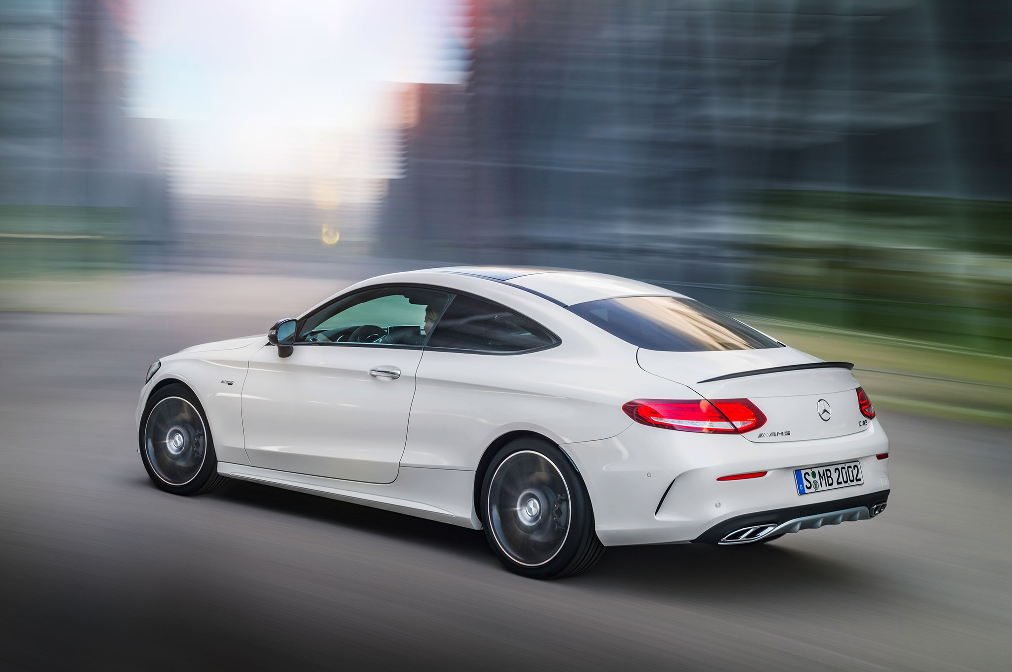 2017 mercedes amg c43 coupe joins sedan with 362 hp v 6. Black Bedroom Furniture Sets. Home Design Ideas