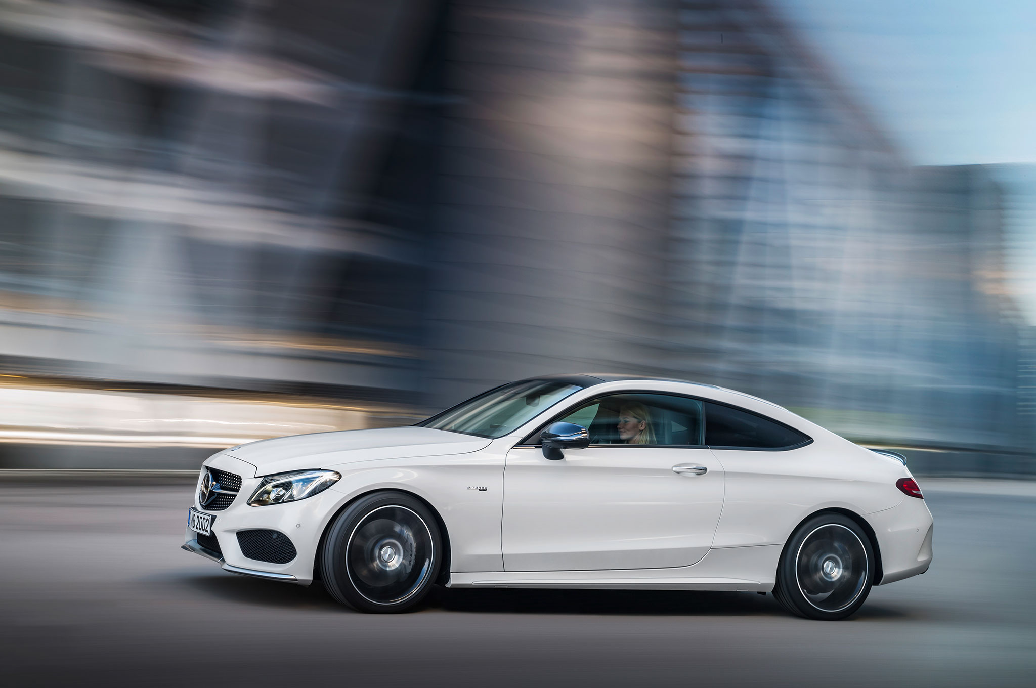 2017 mercedes-amg c43 coupe joins sedan with 362-hp v-6 engine