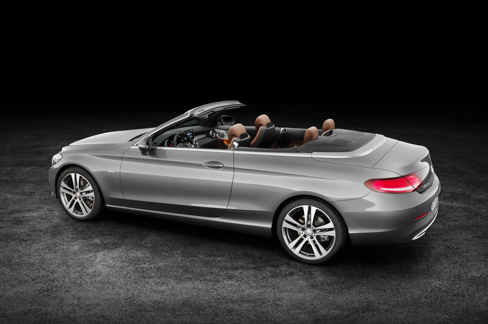 2017 mercedes benz c class cabriolet revealed in c300 amg for Mercedes benz convertible 2017