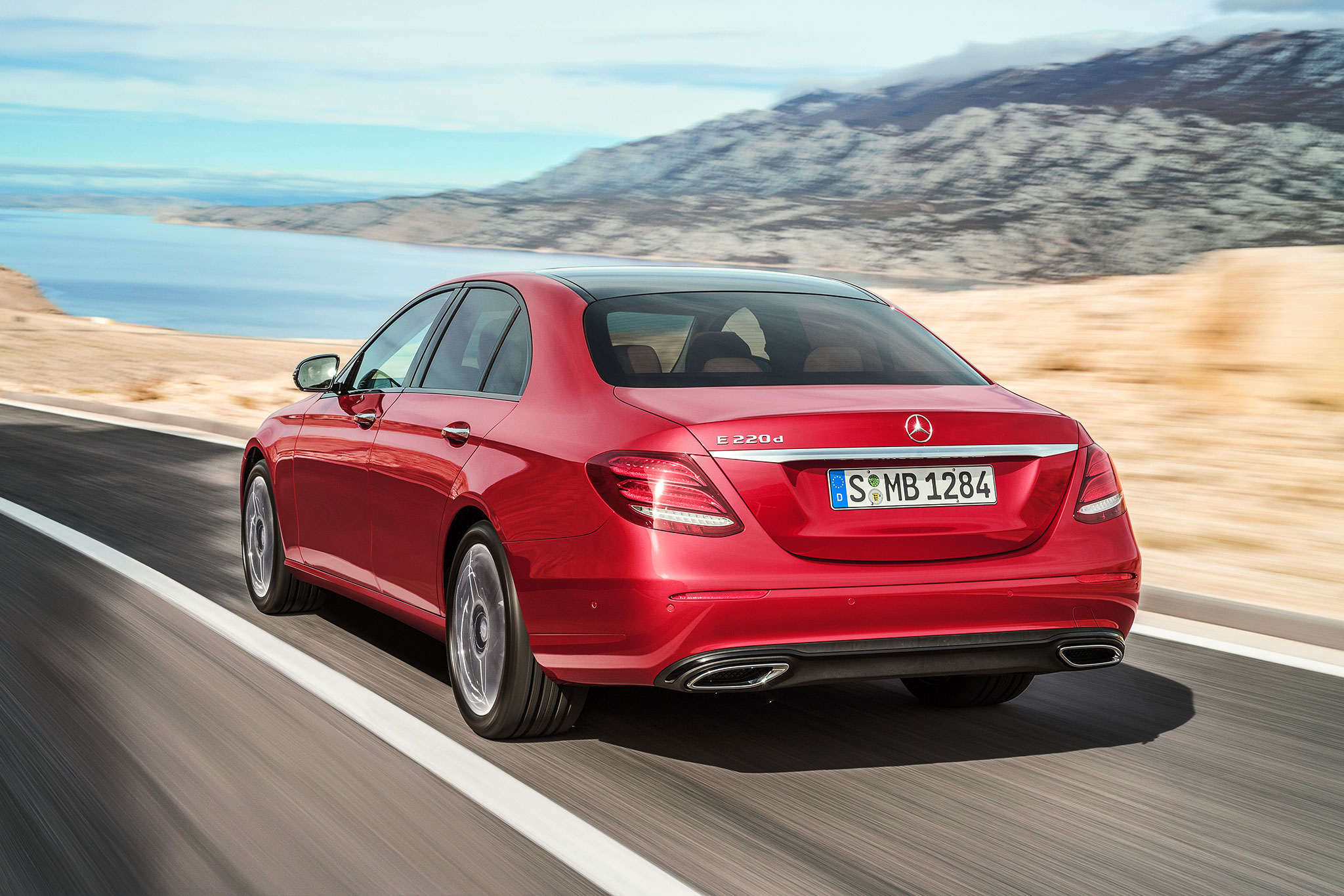 mercedes benz e220d uses new diesel four cylinder in