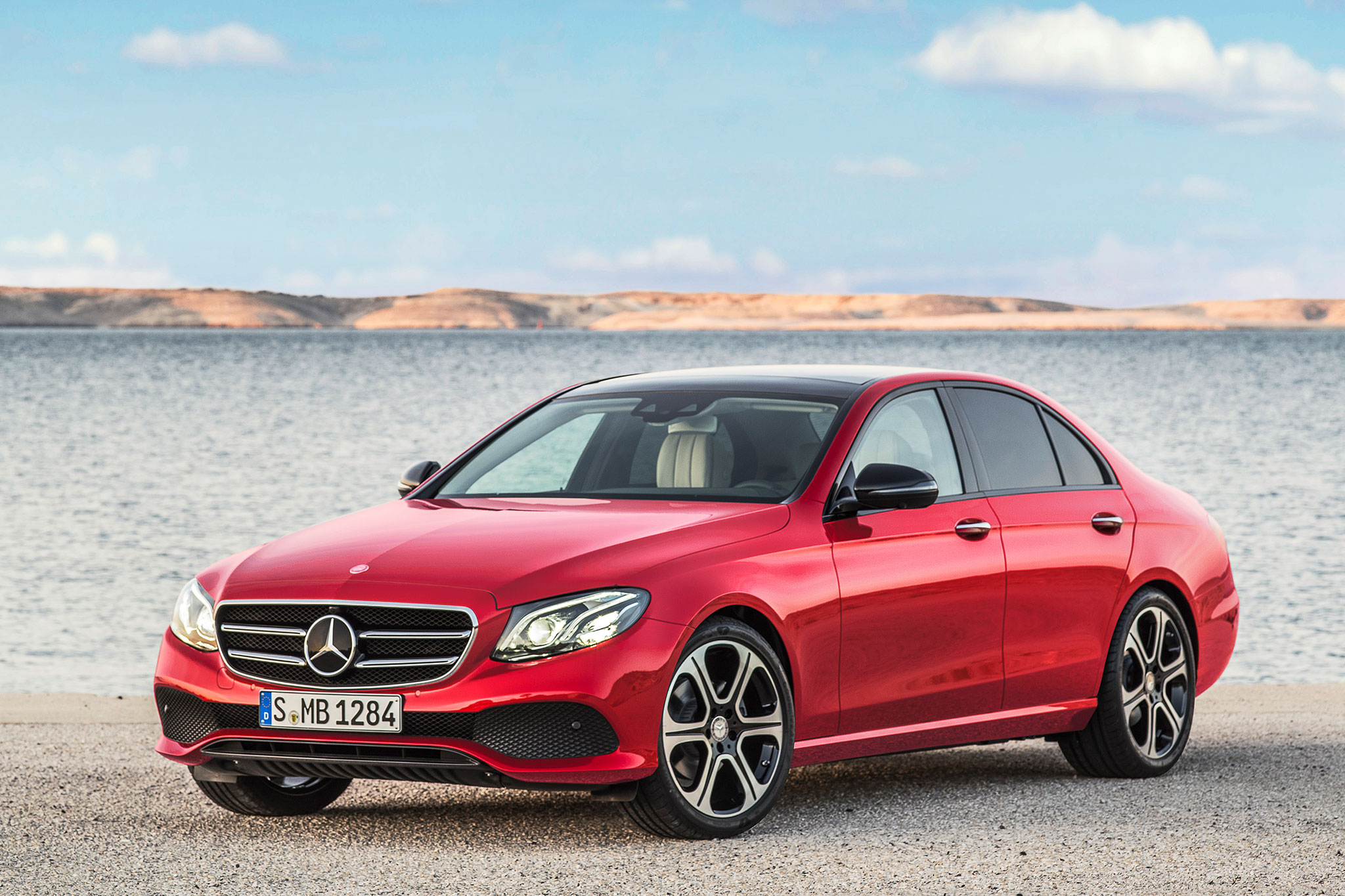 Mercedes benz e220d uses new diesel four cylinder in for Mercedes benz diesels
