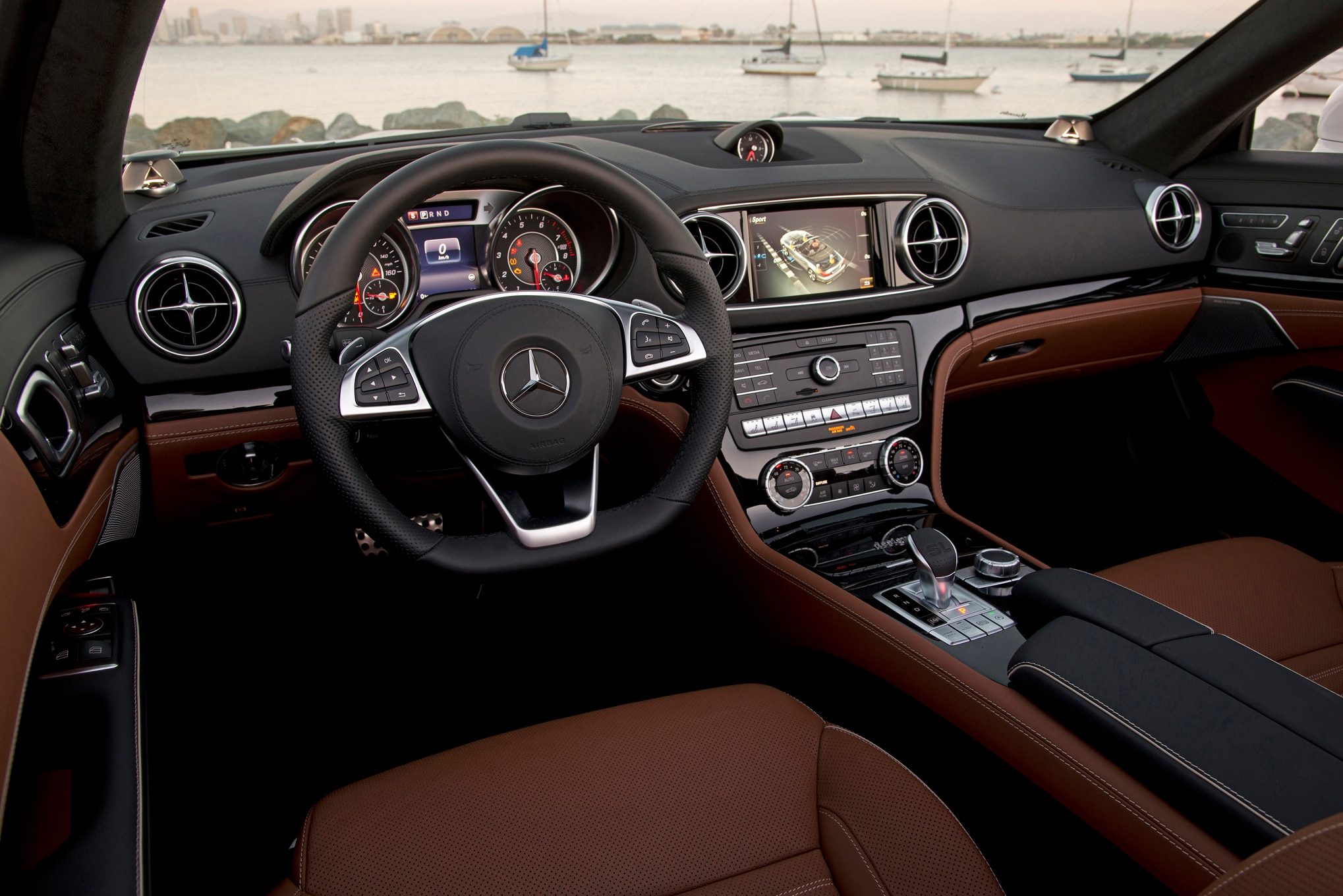 Mercedes sls interior 2017 my site for Mercedes benz inside view