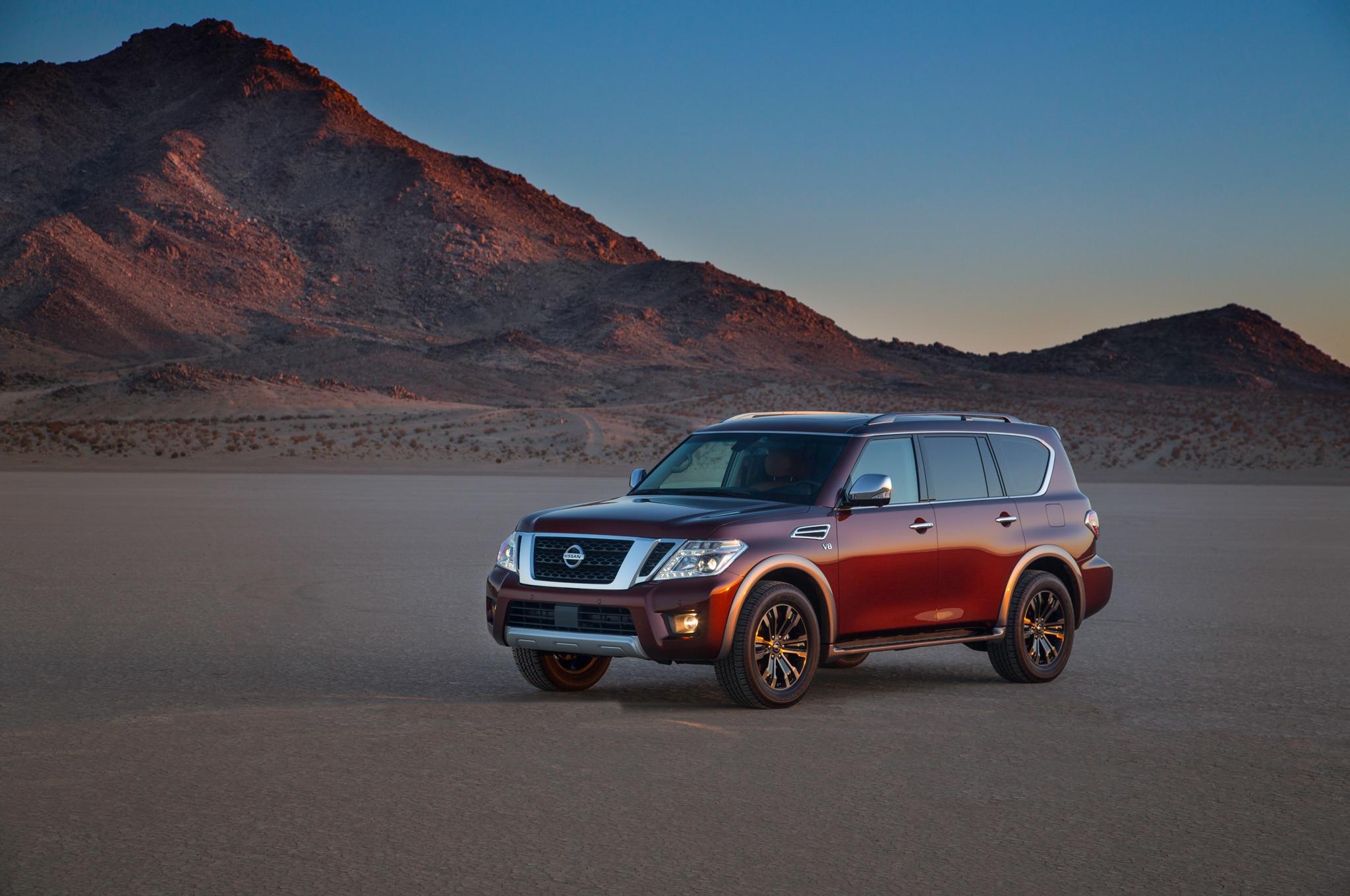 2017 Nissan Armada Takes On the Toyota Land Cruiser